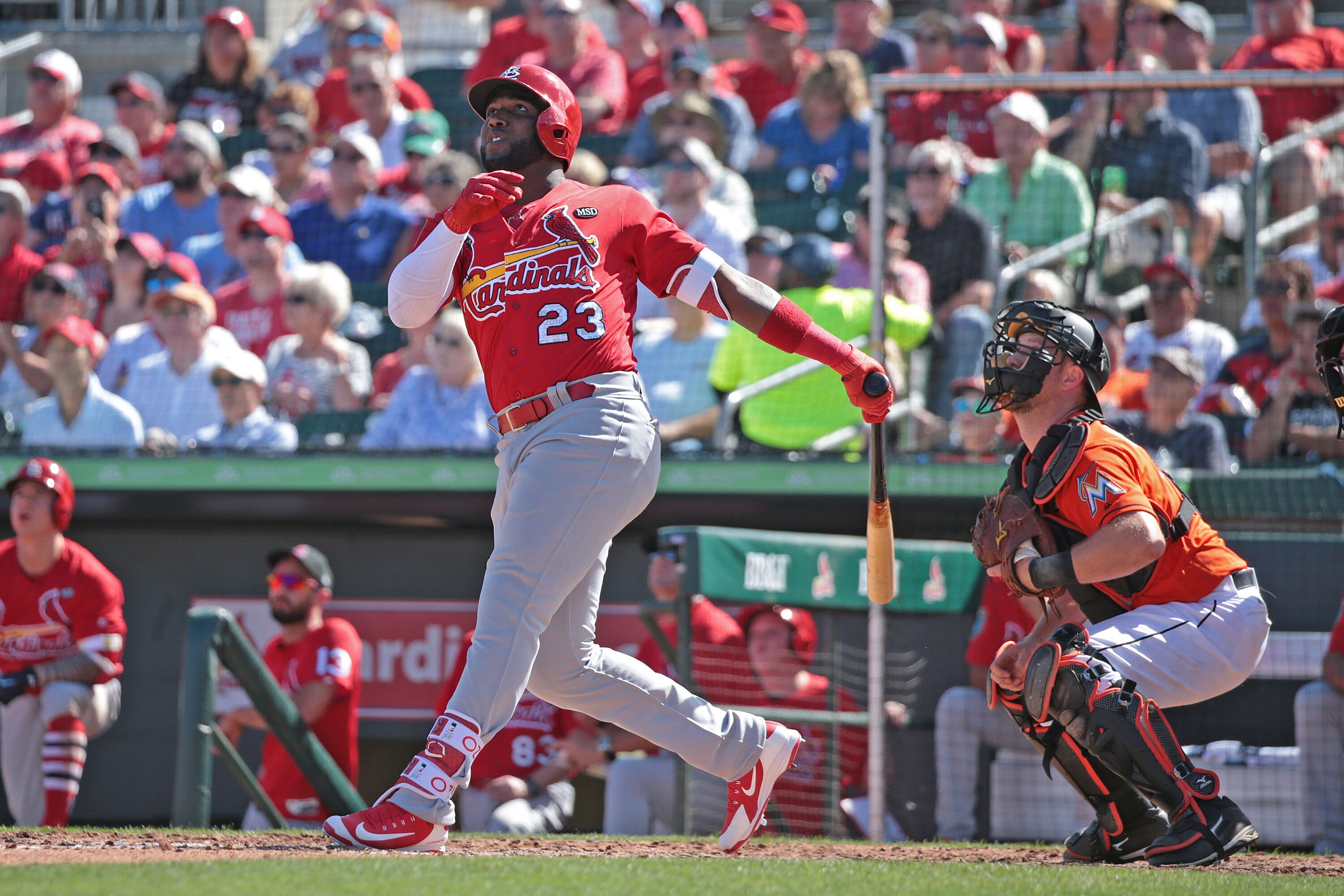 Marcell Ozuna crushes first HR with Cardinals (Video)