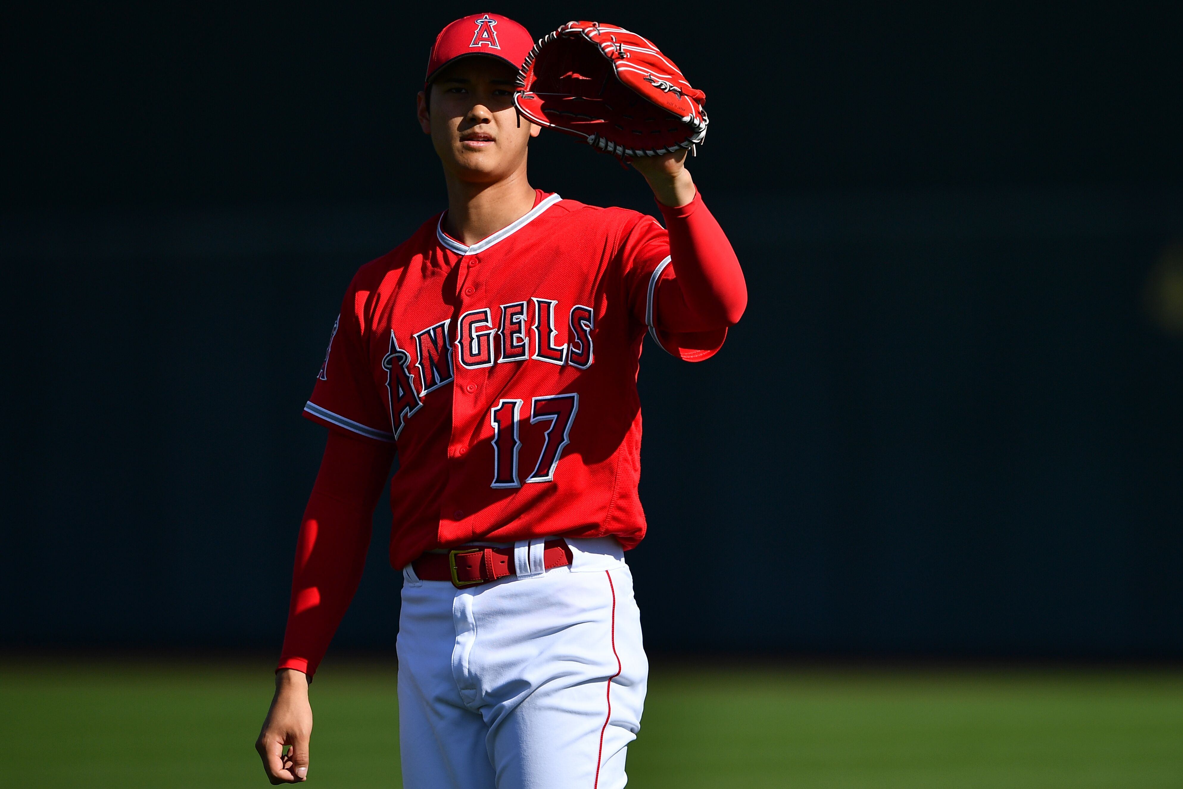 Shohei Ohtani Is Pure Fire On The Mound At Spring Game