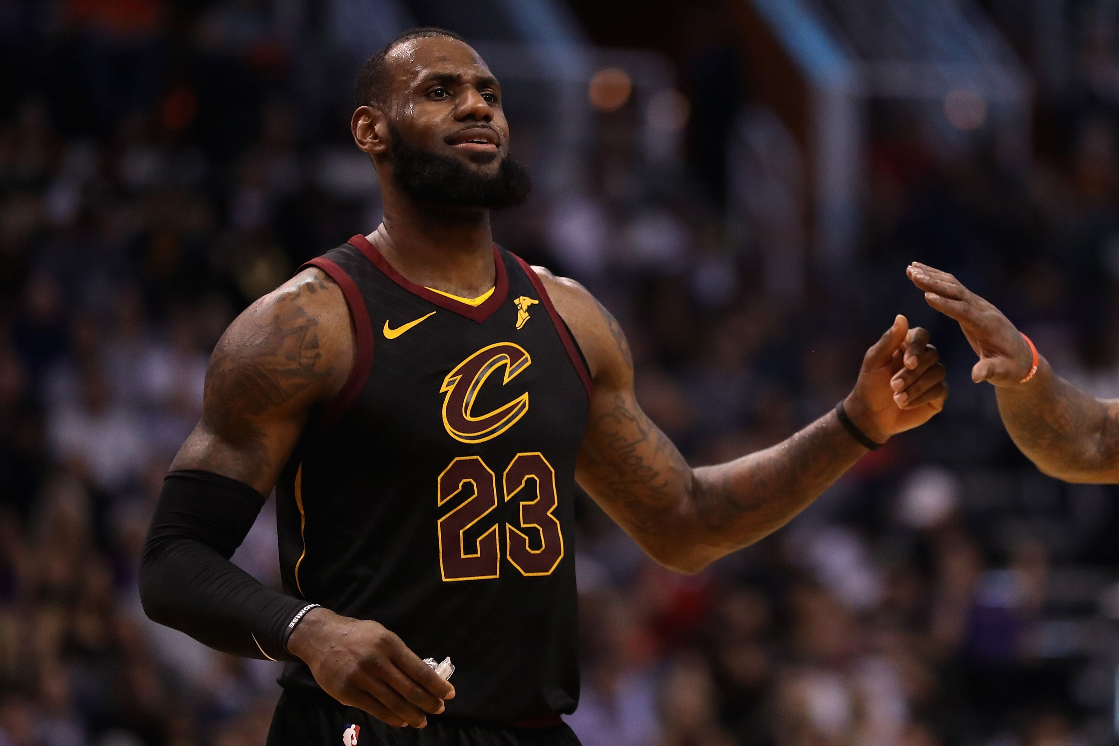 LeBron thanks fan for 'more than an athlete' poster