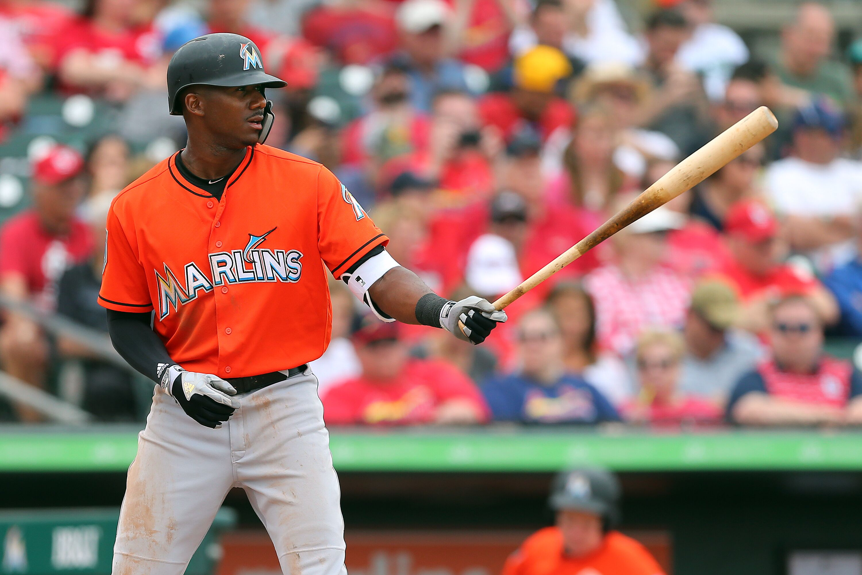 Lewis Brinson makes Marlins' Opening Day roster