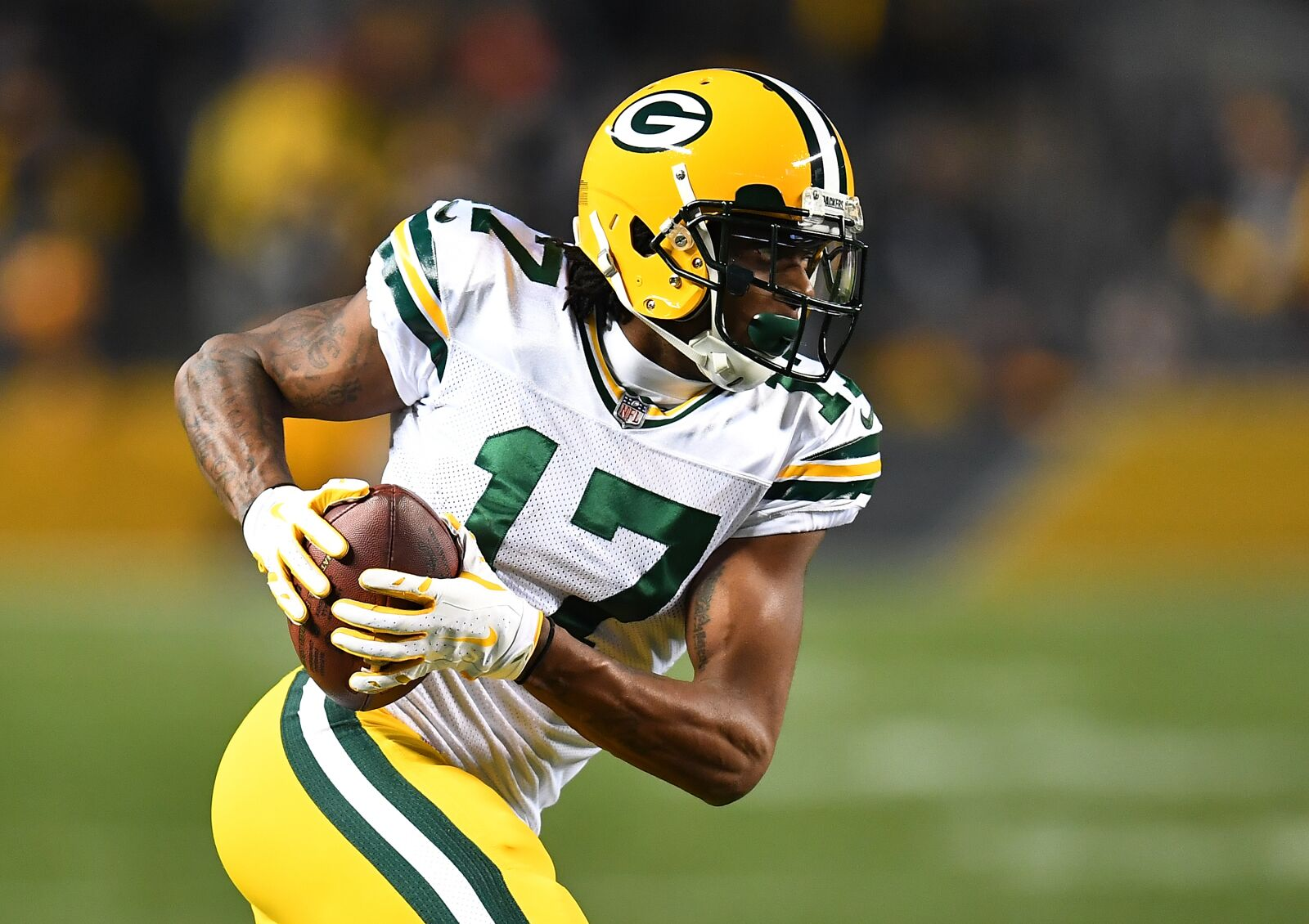 new concept c2d69 6b35e Did Davante Adams reveal a yellow Packers alternate jersey?