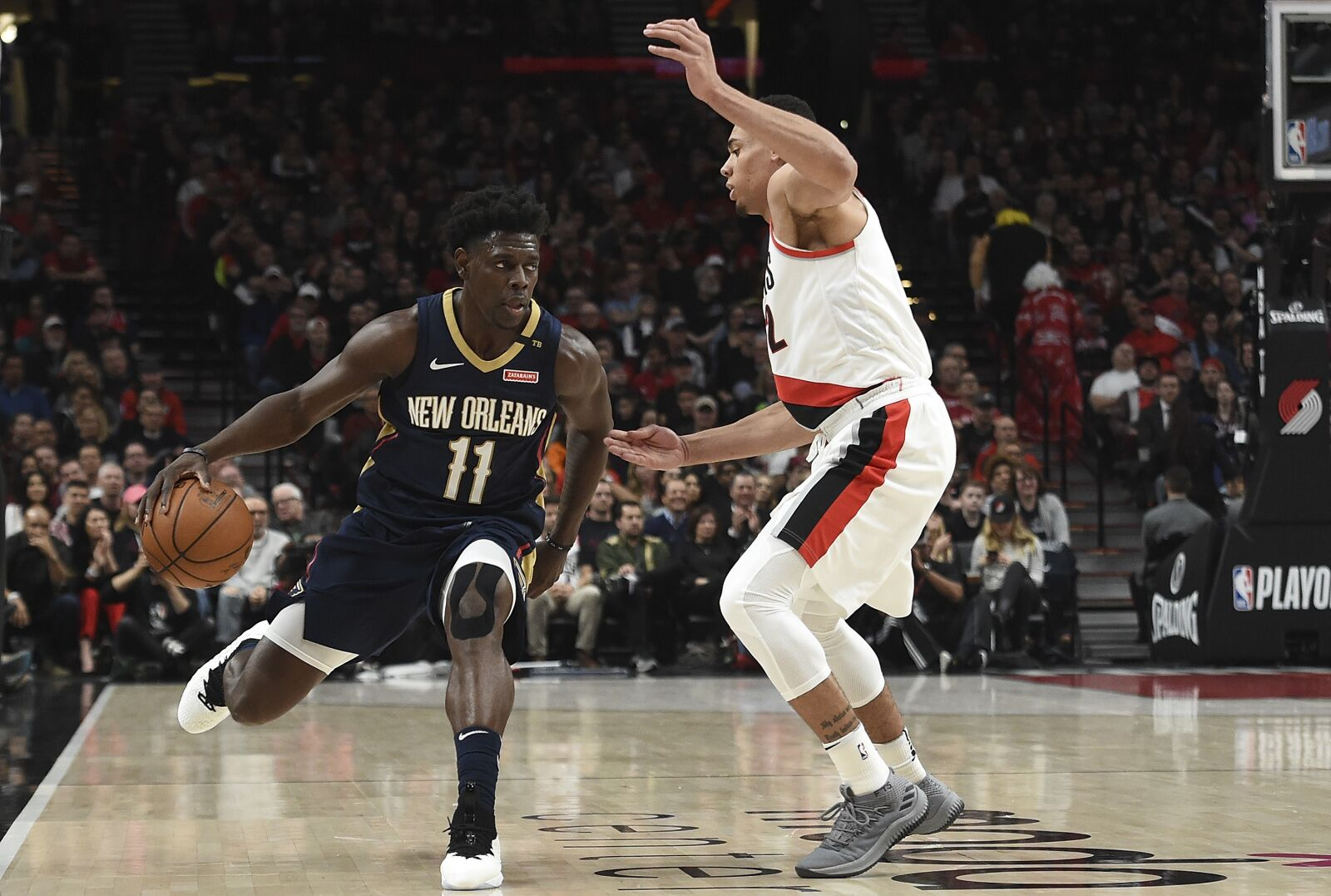 Pelicans Vs Trail Blazers Detail: Jrue Holiday Has The Pelicans In Position To Knock Off The