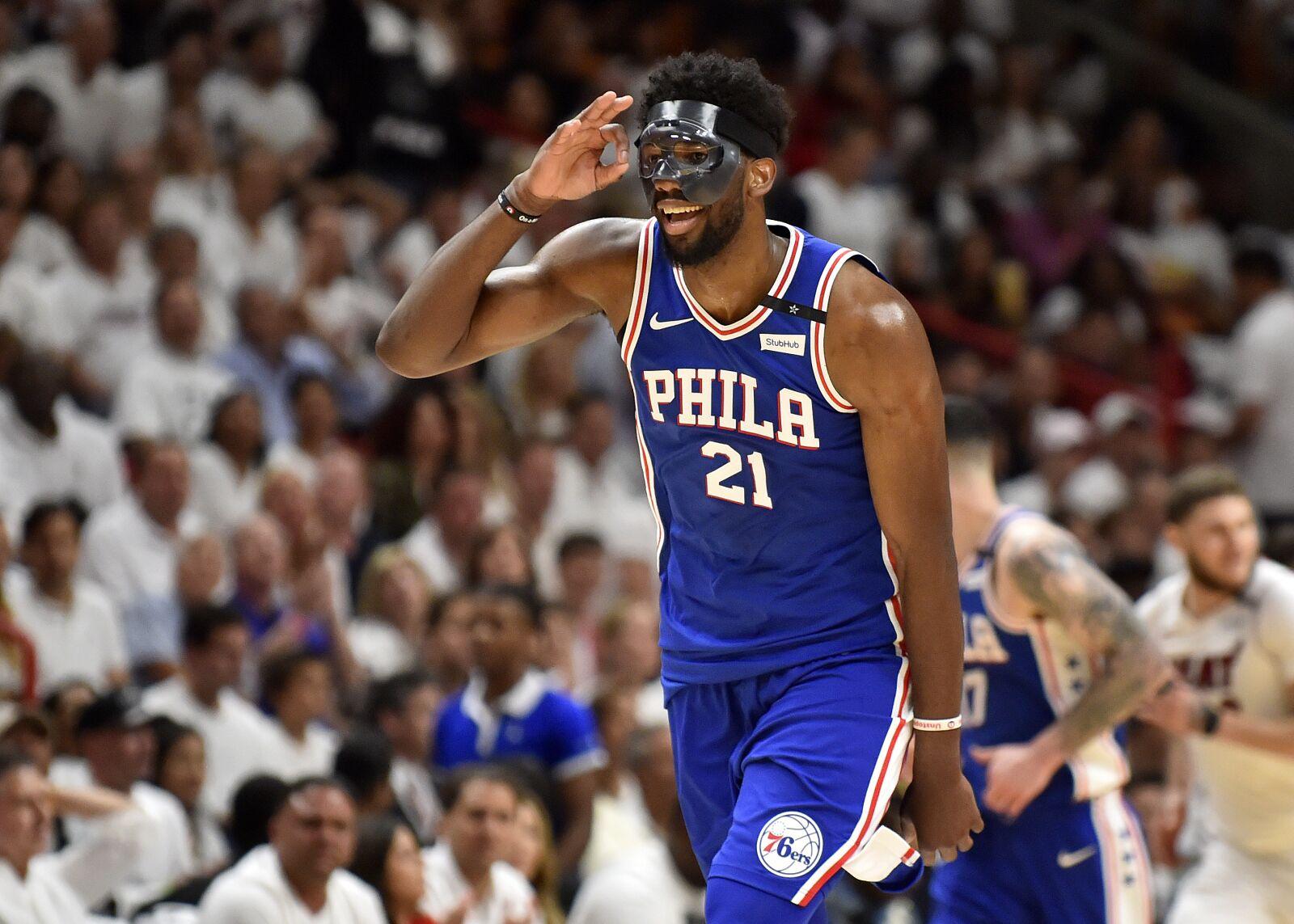 NBA Playoffs 2018: Philadelphia 76ers vs. Miami Heat Game ...