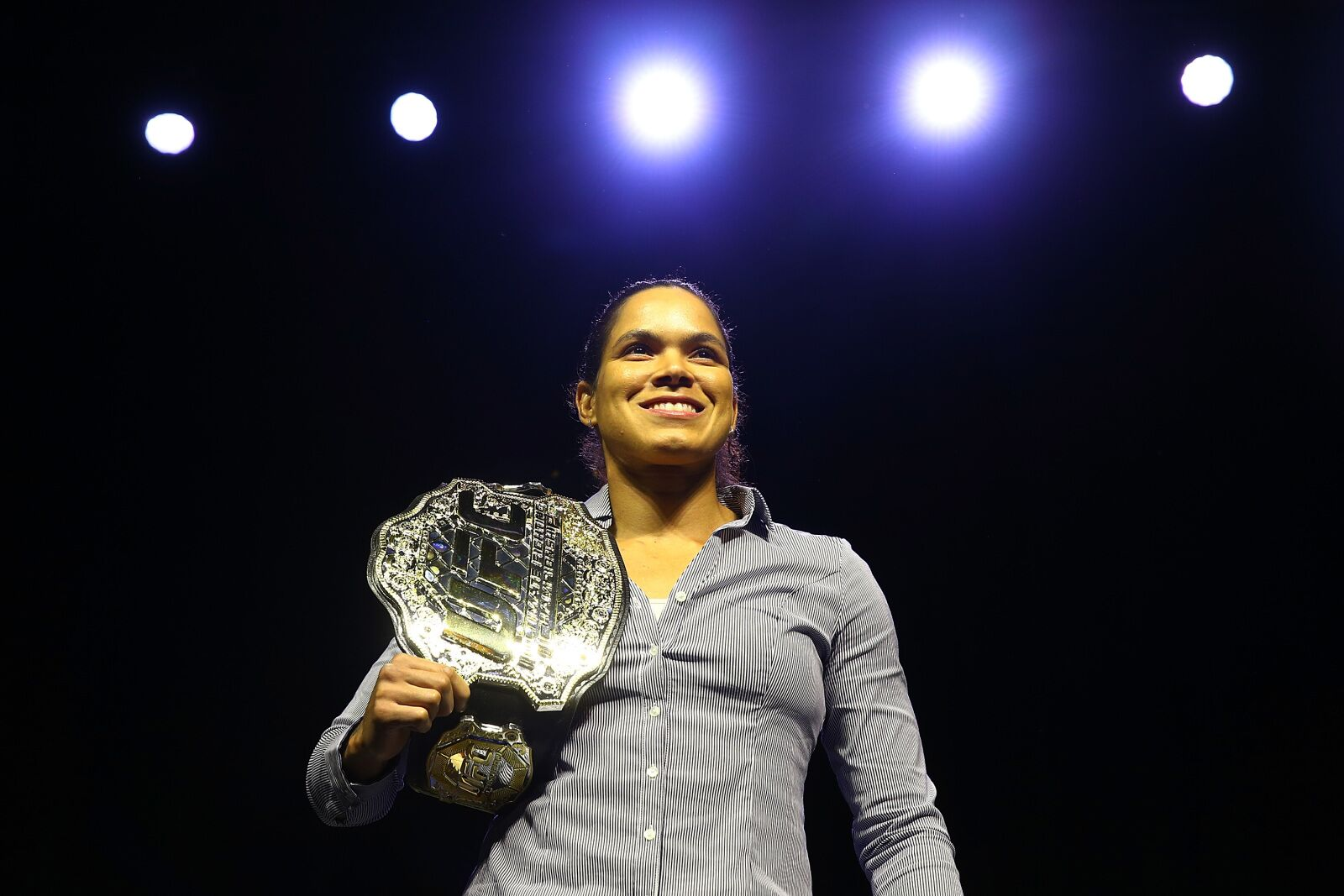 Amanda Nunes nixes return to featherweight in hilarious new video