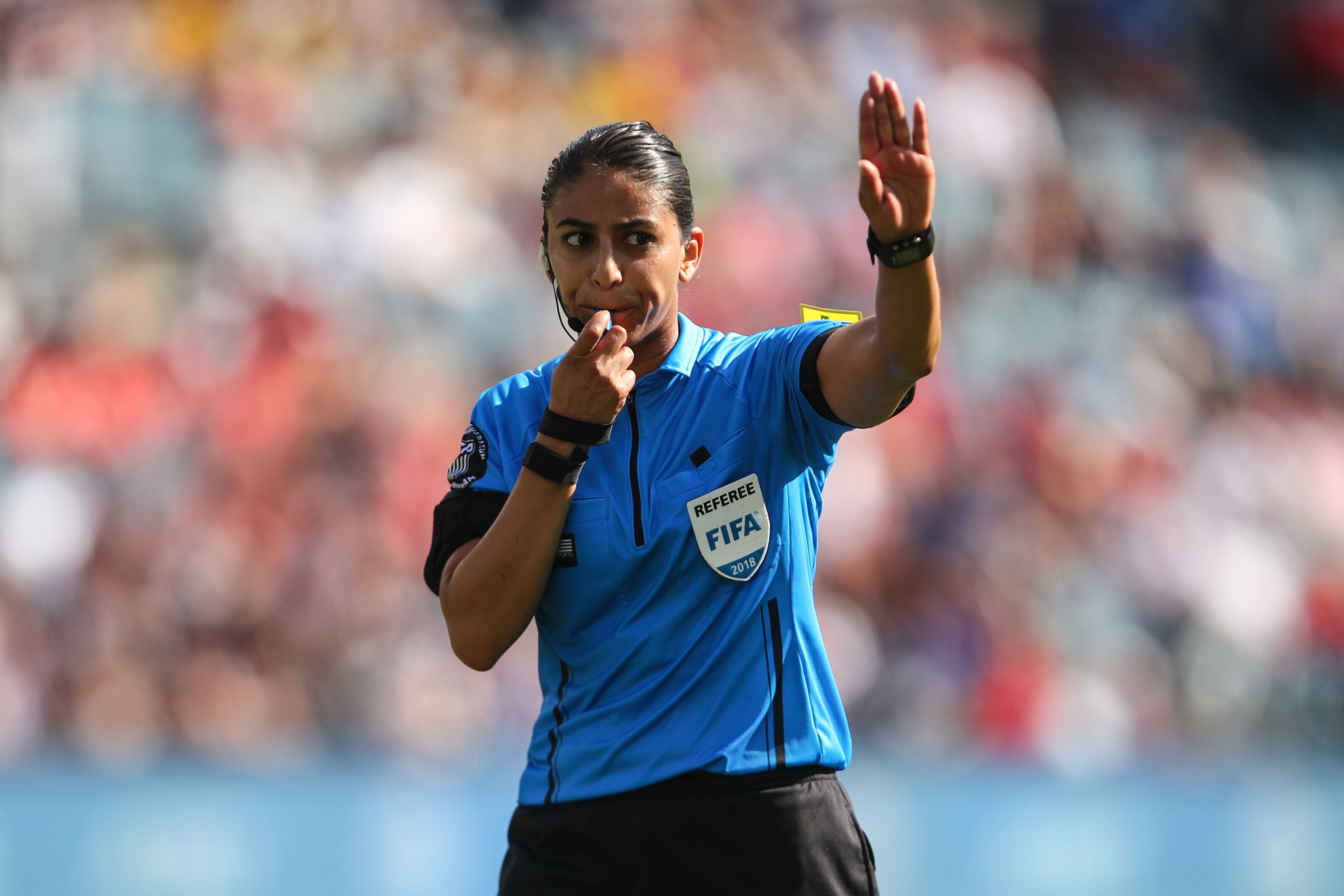 Women's World Cup: Christina Unkel has been indispensable as Rules Analyst