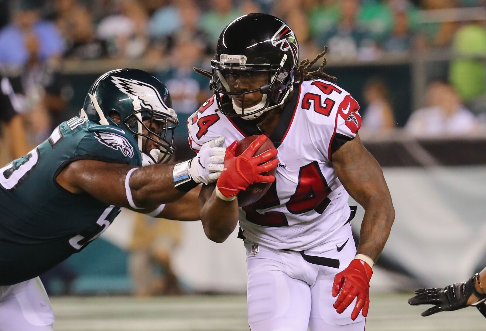 Falcons have depth they need behind Devonta Freeman