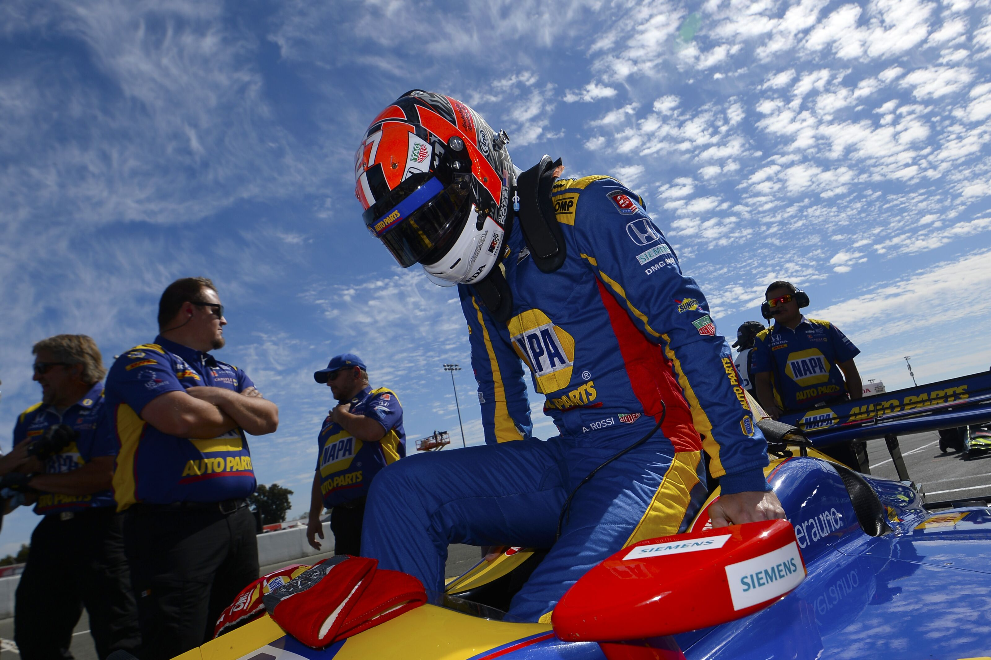 IndyCar contenders: Alexander Rossi talks mission to win first title