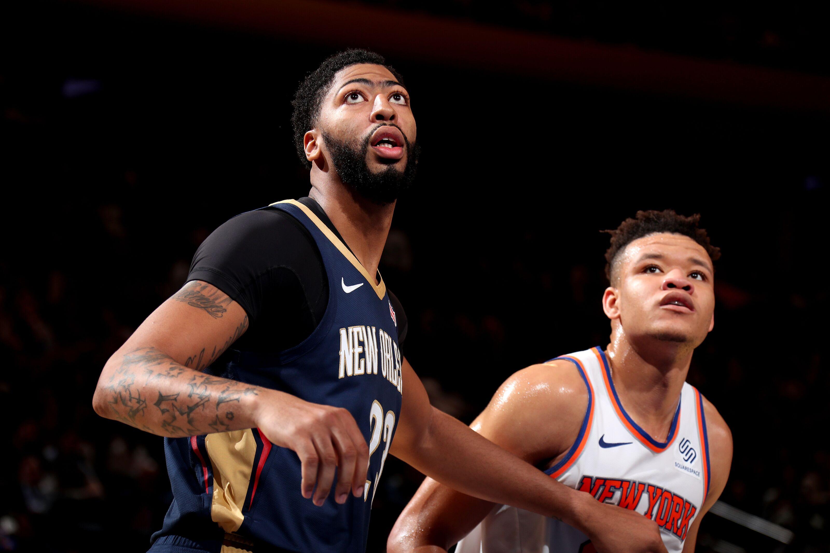 0e7ef1be9bd NBA rumors  Knicks would use No. 1 pick for Anthony Davis trade