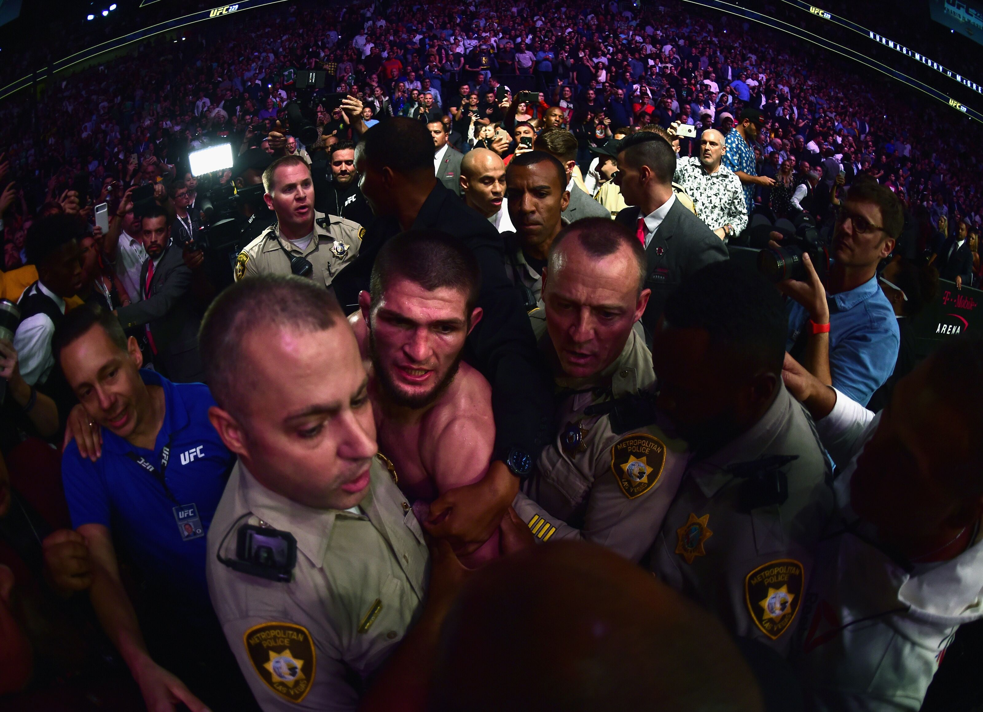 Khabib's father thinks his son will get $500,000 fine, 9-month suspension