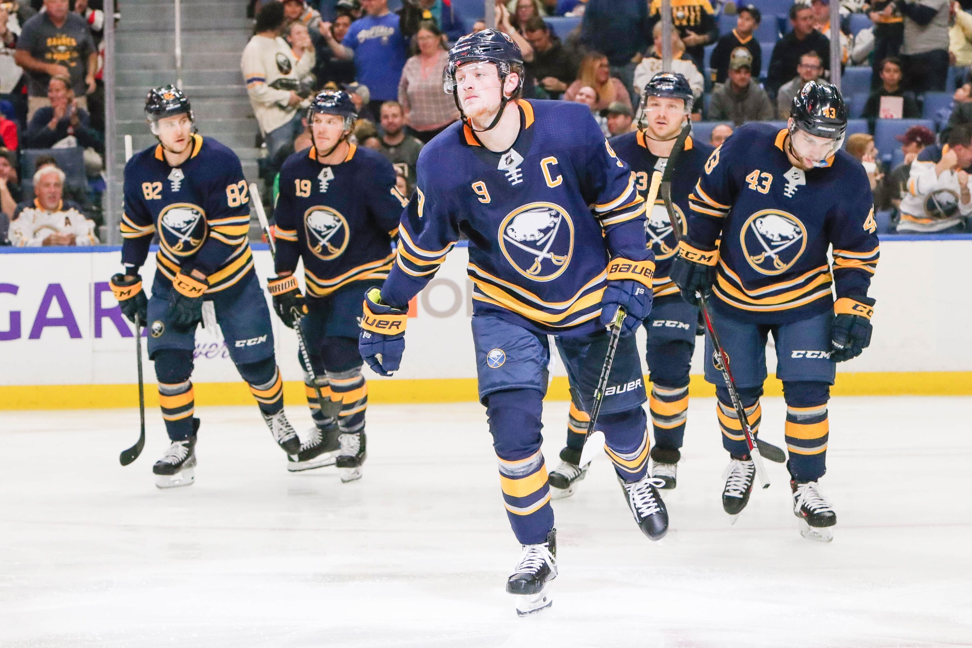 The Buffalo Sabres have a winning record for the first time in 2 8f752d28dd