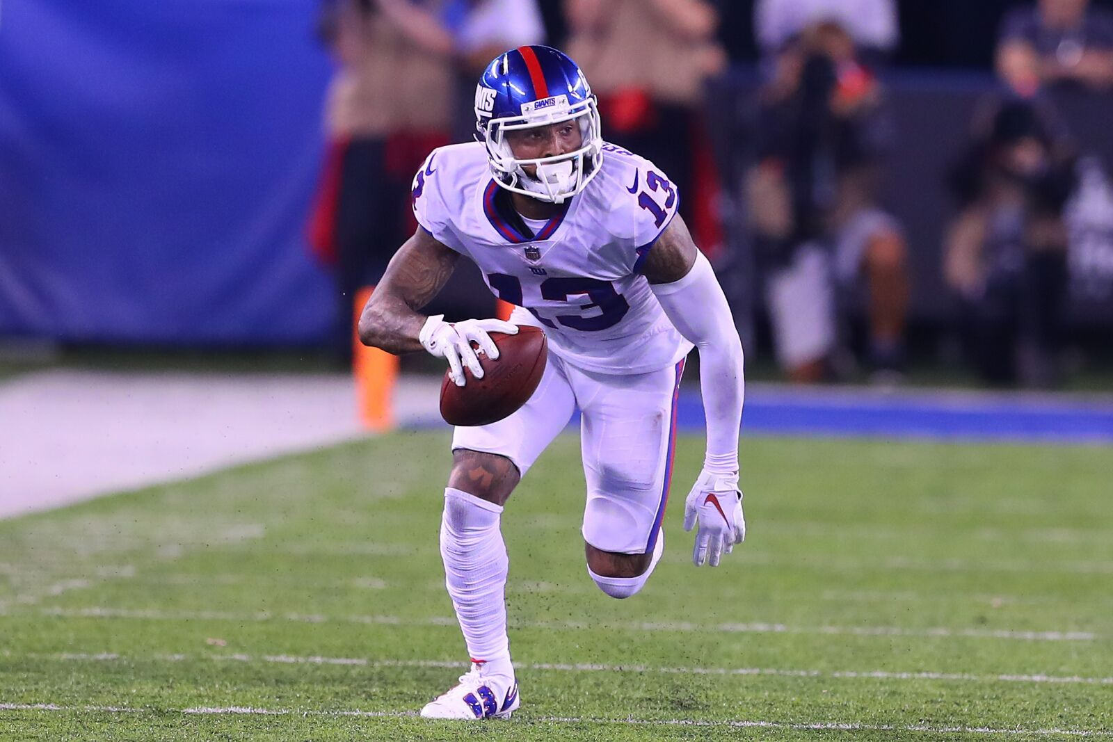 9972c7ce8 Odell Beckham, Jr. is apparently against drinking water