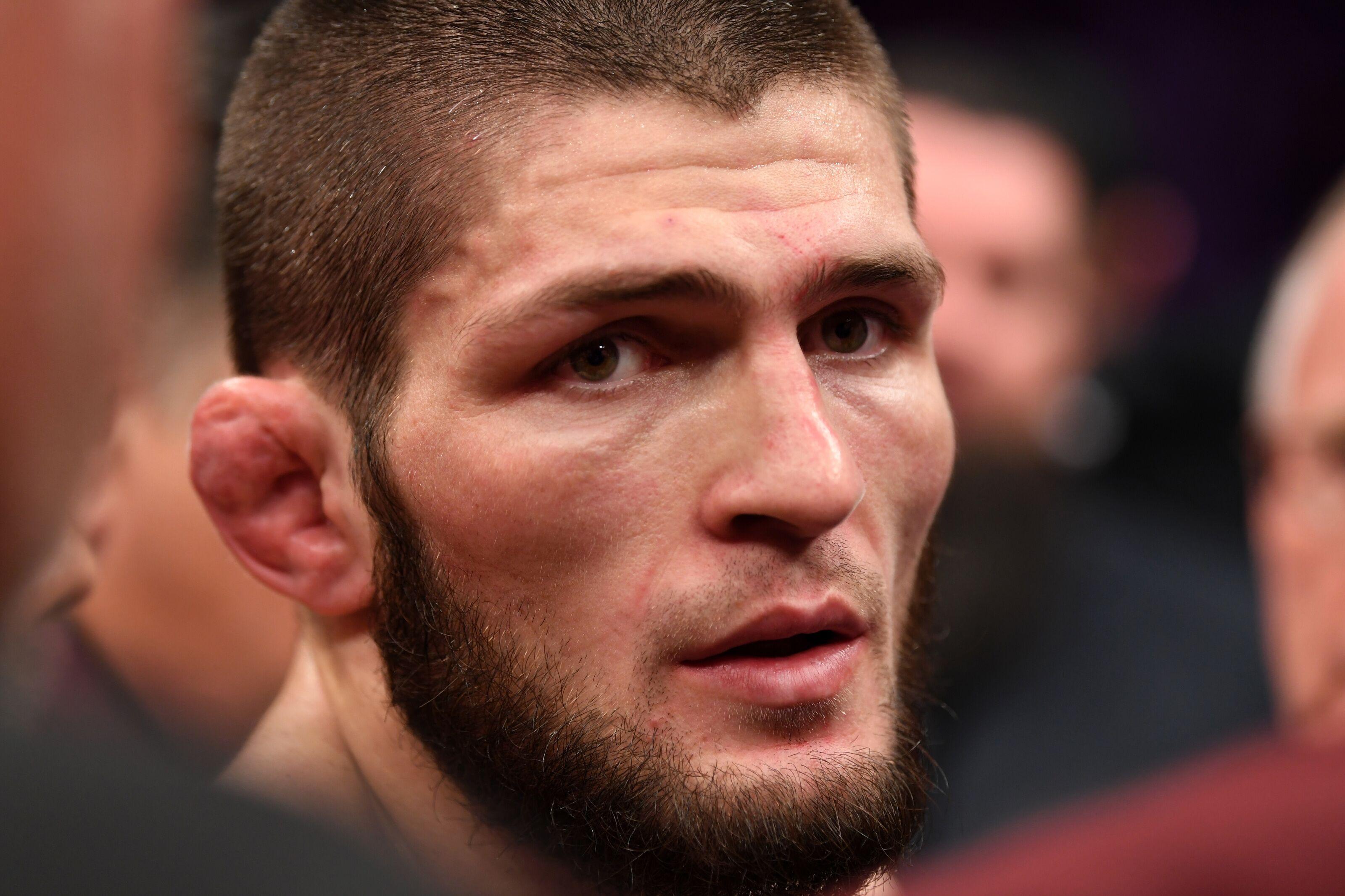 Nate Diaz, Khabib Nurmagomedov separated by security after UFC 239 incident