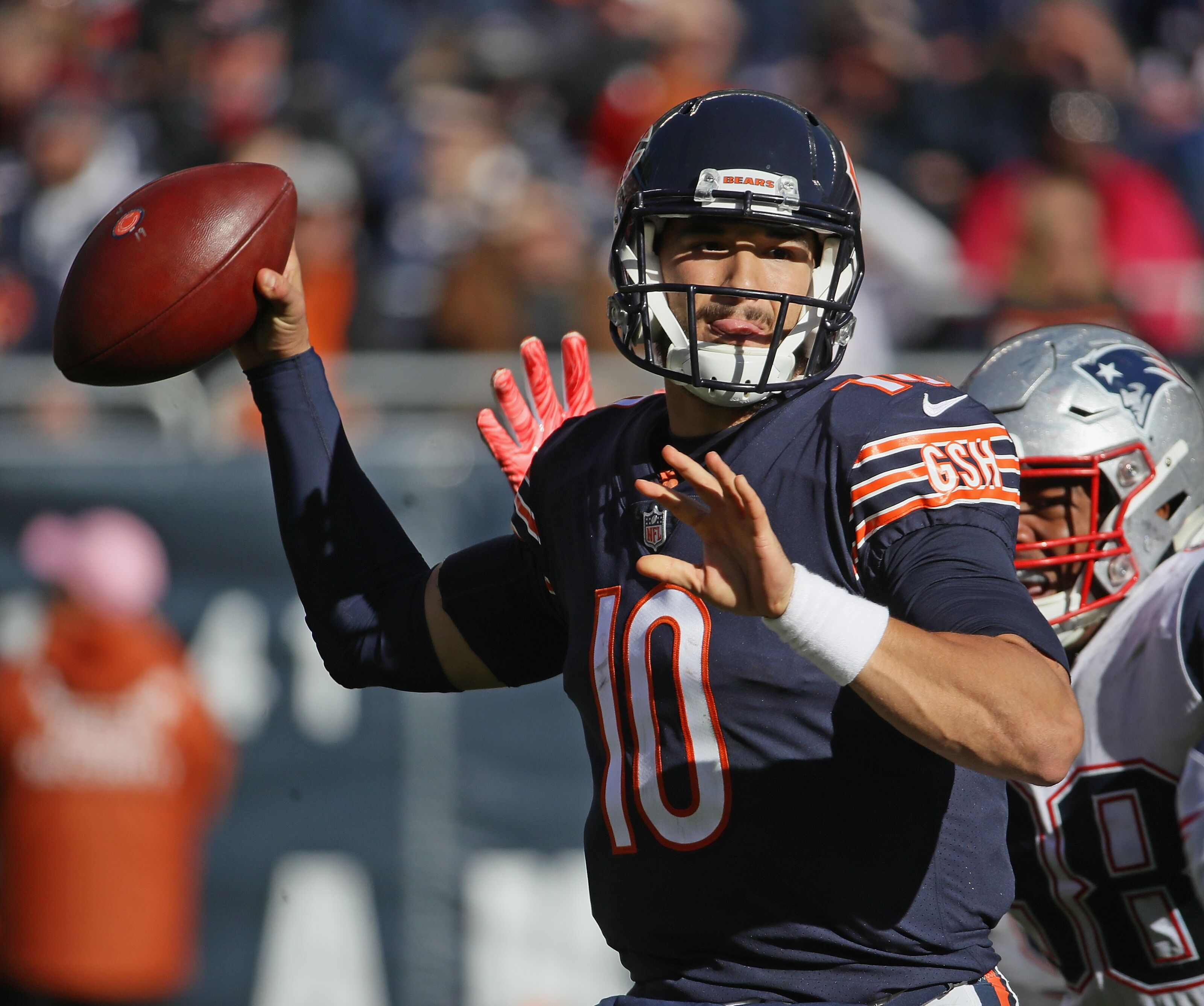 Mitchell Trubisky shows he still has a lot to learn