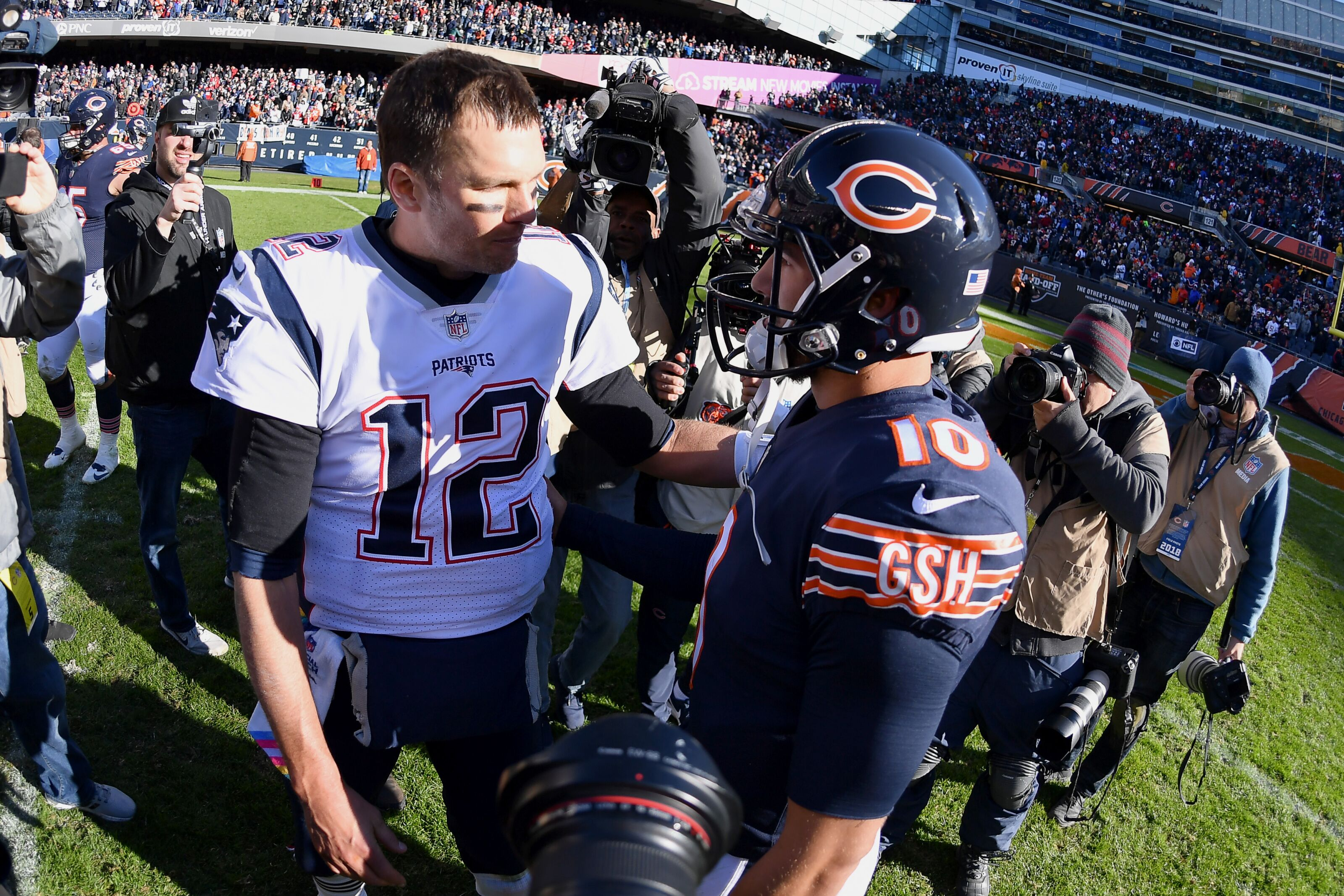 Patriots show why Bears have a ways to go yet