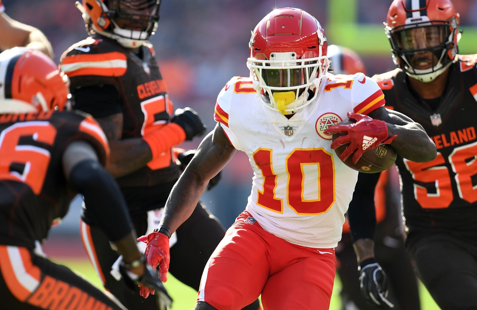 NFL mailbag: Tyreek Hill, Jets' draft needs and more