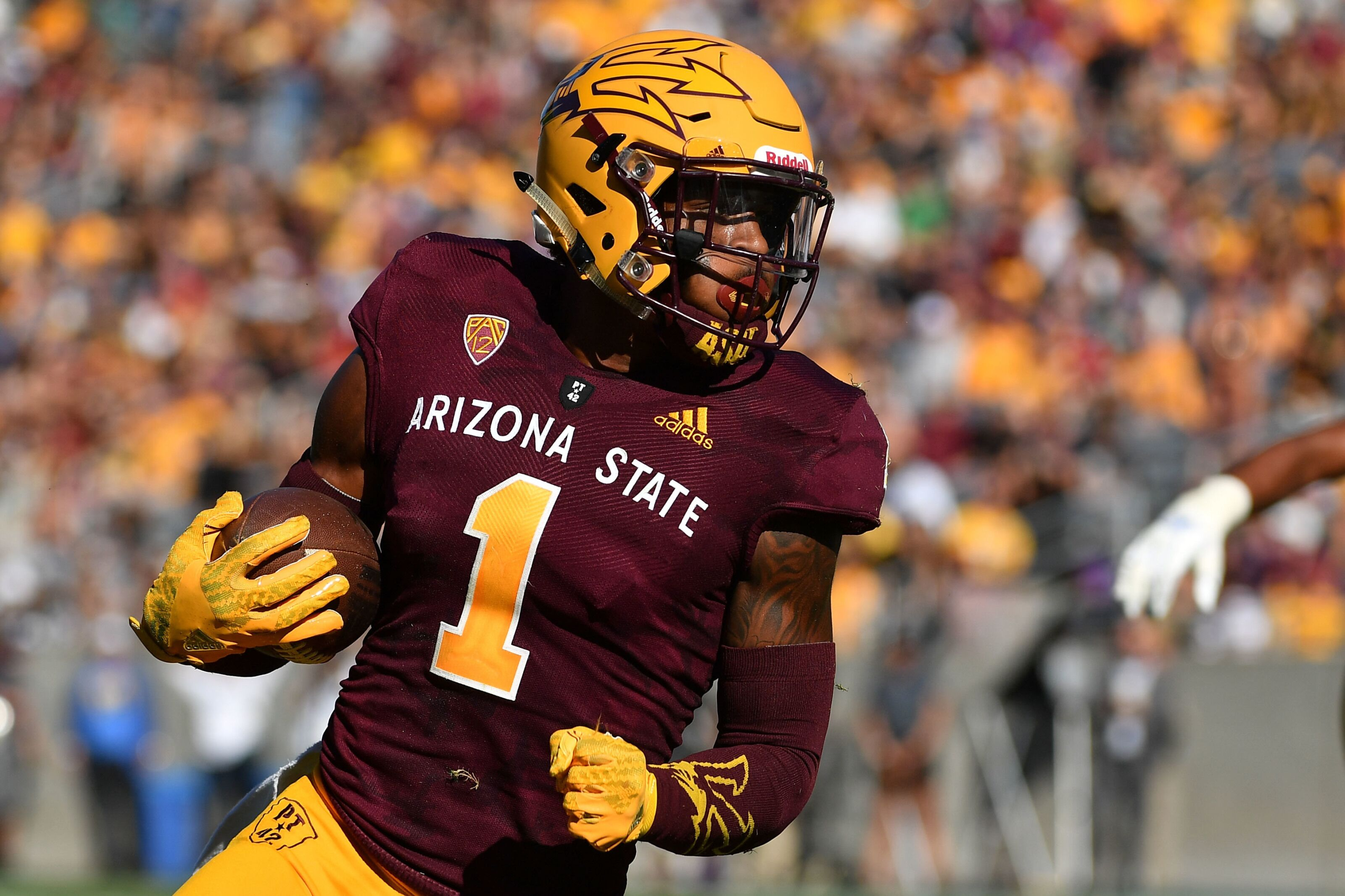 N'Keal Harry motivated by his grandmother and ready to make NFL history