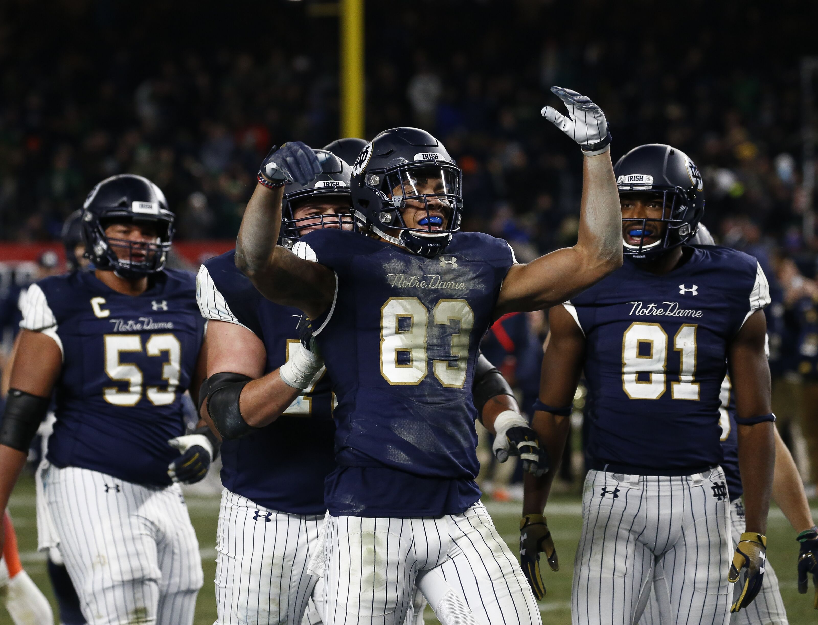 best loved 6db9b 146e0 ACC power rankings: Notre Dame gives Syracuse a reality check