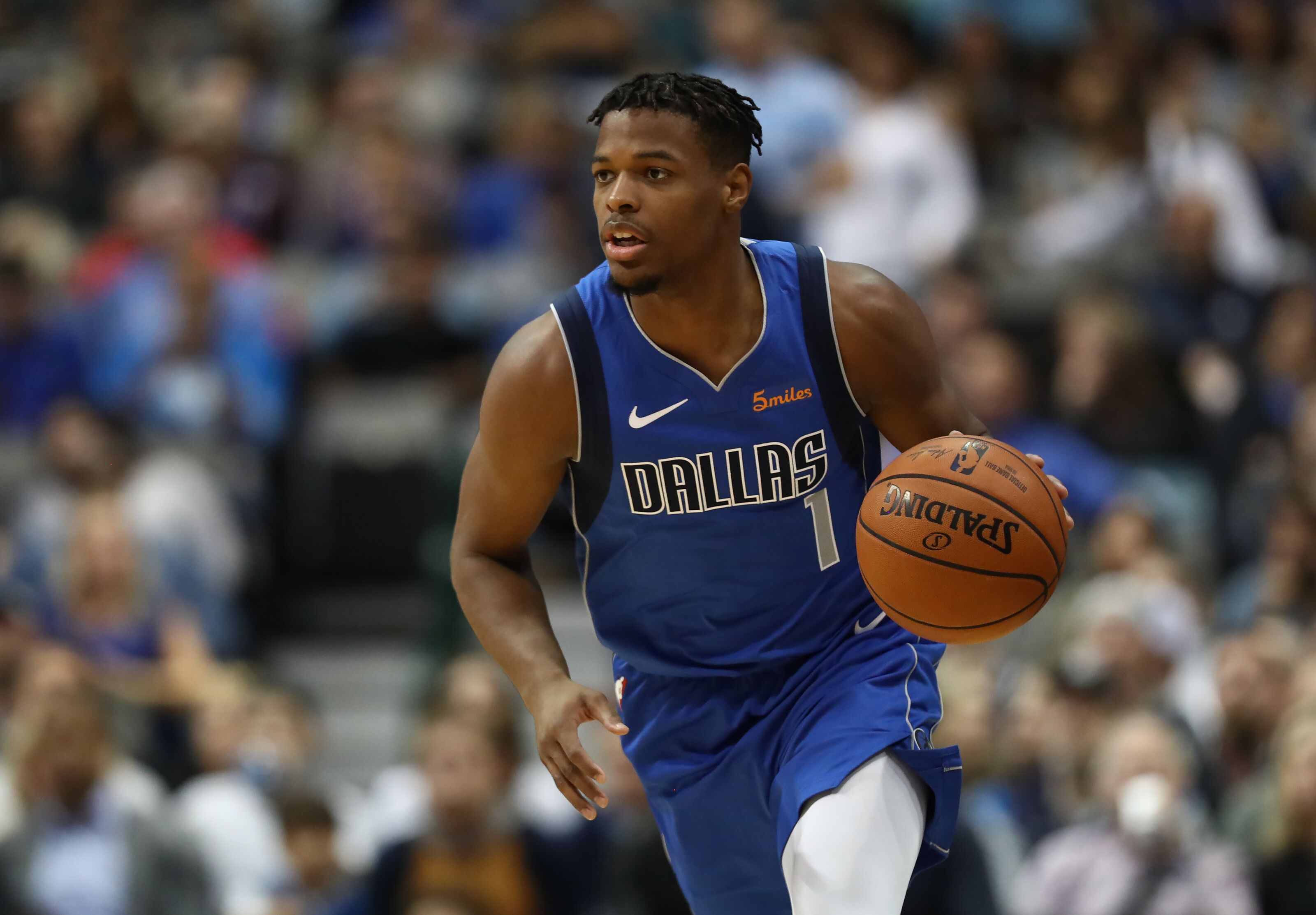 Dennis Smith Jr. trade wouldn't be due to lack of improvement