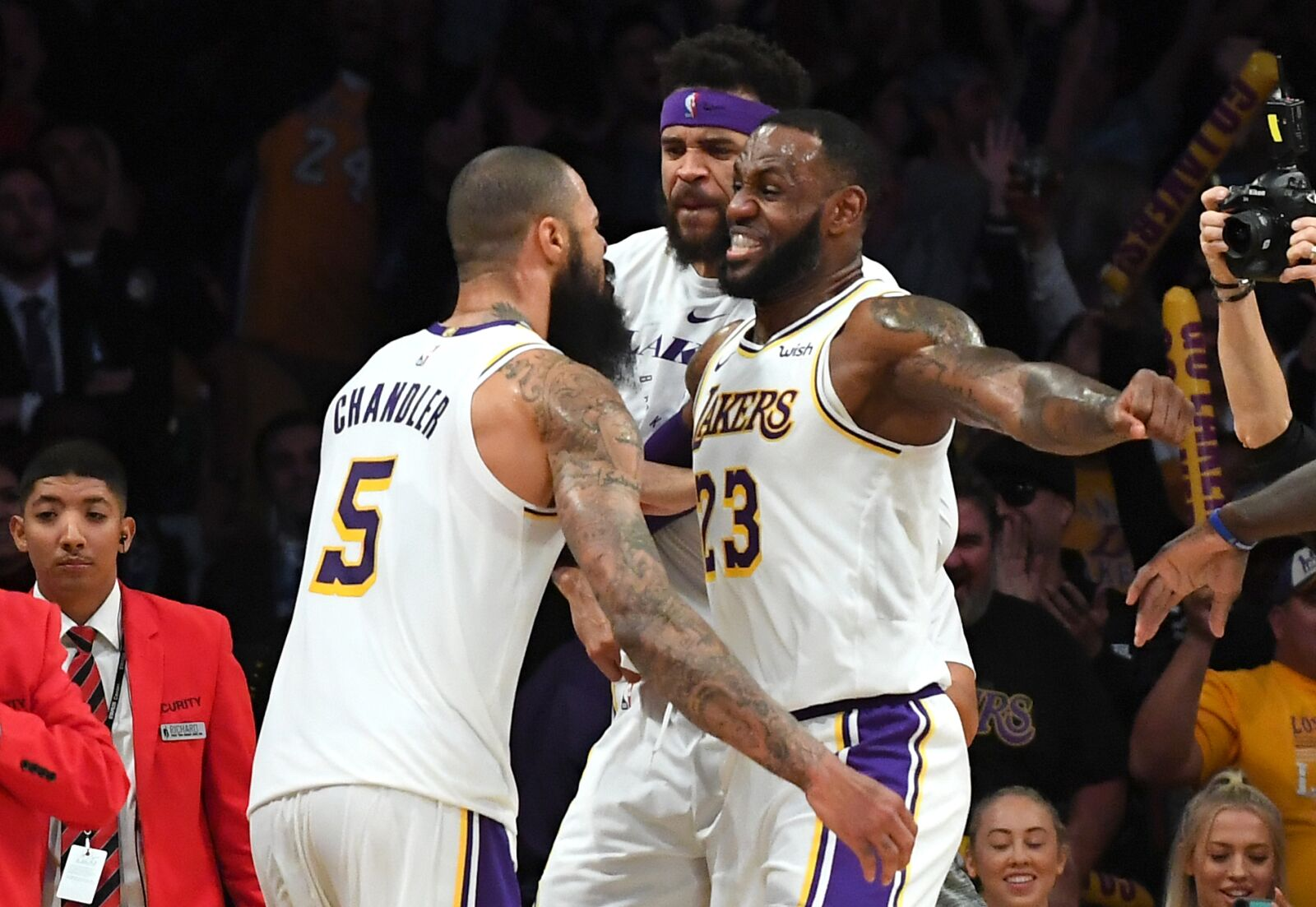 9ab4fda0263 Tyson Chandler has been just what the Los Angeles Lakers needed