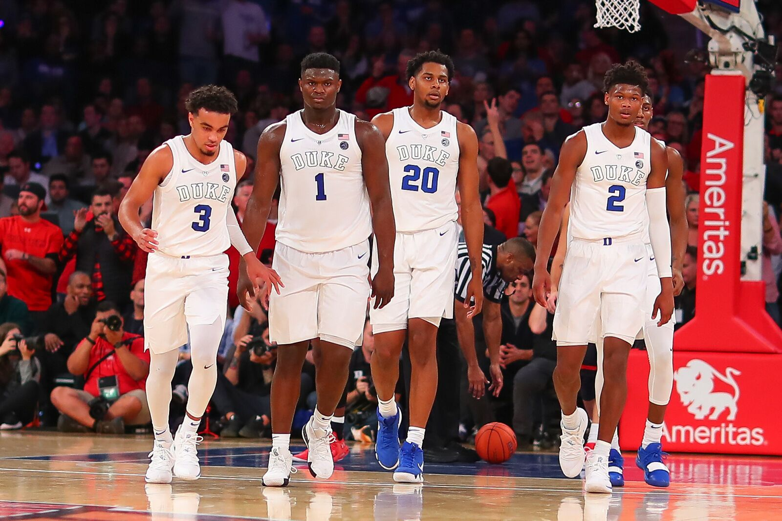 Tre Jones Injury Biggest Worry For Duke After Loss Against Syracuse