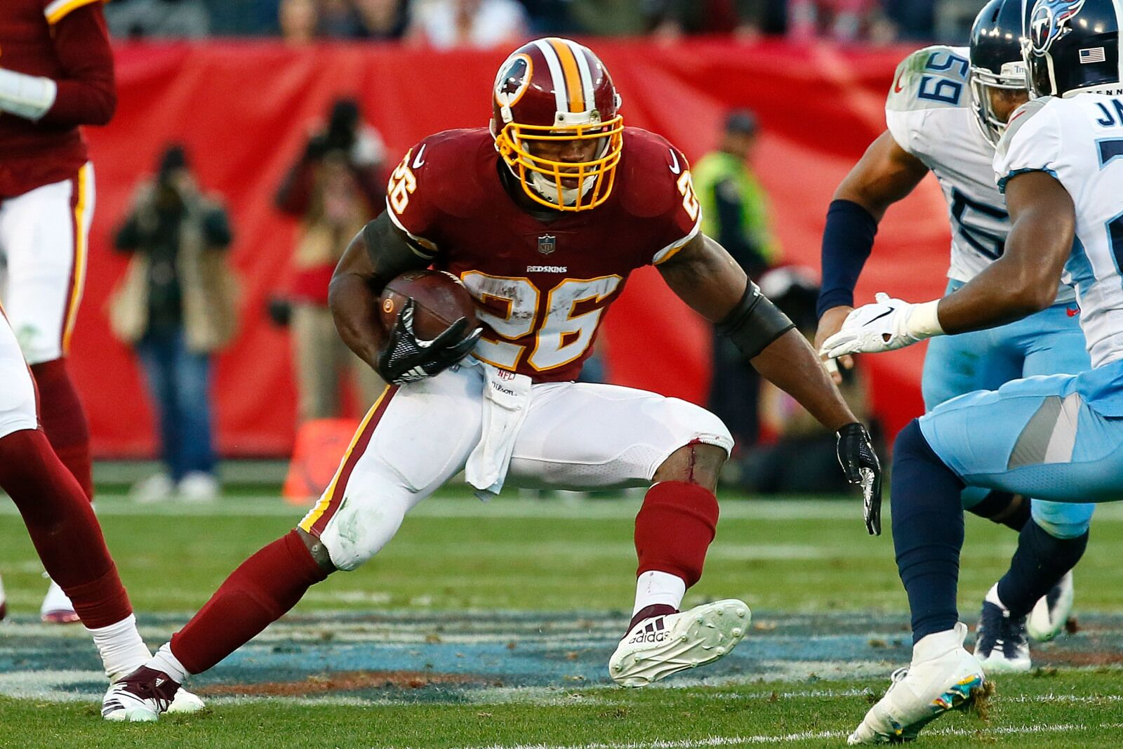 premium selection 10c9a 17fcb Washington Redskins re-sign Adrian Peterson: Grades ...