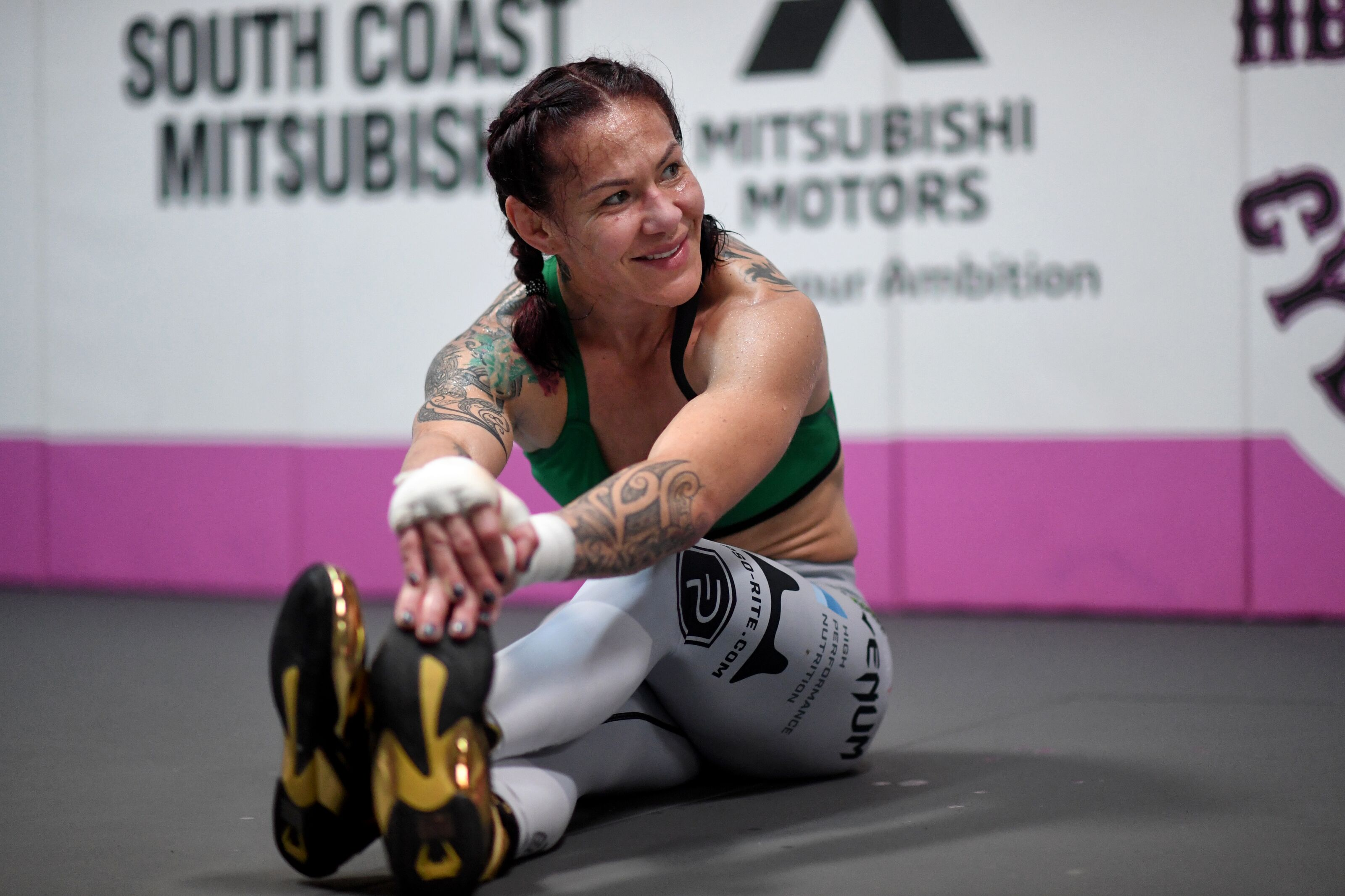 Cris Cyborg to host movie night for fans in honor of Mother's Day