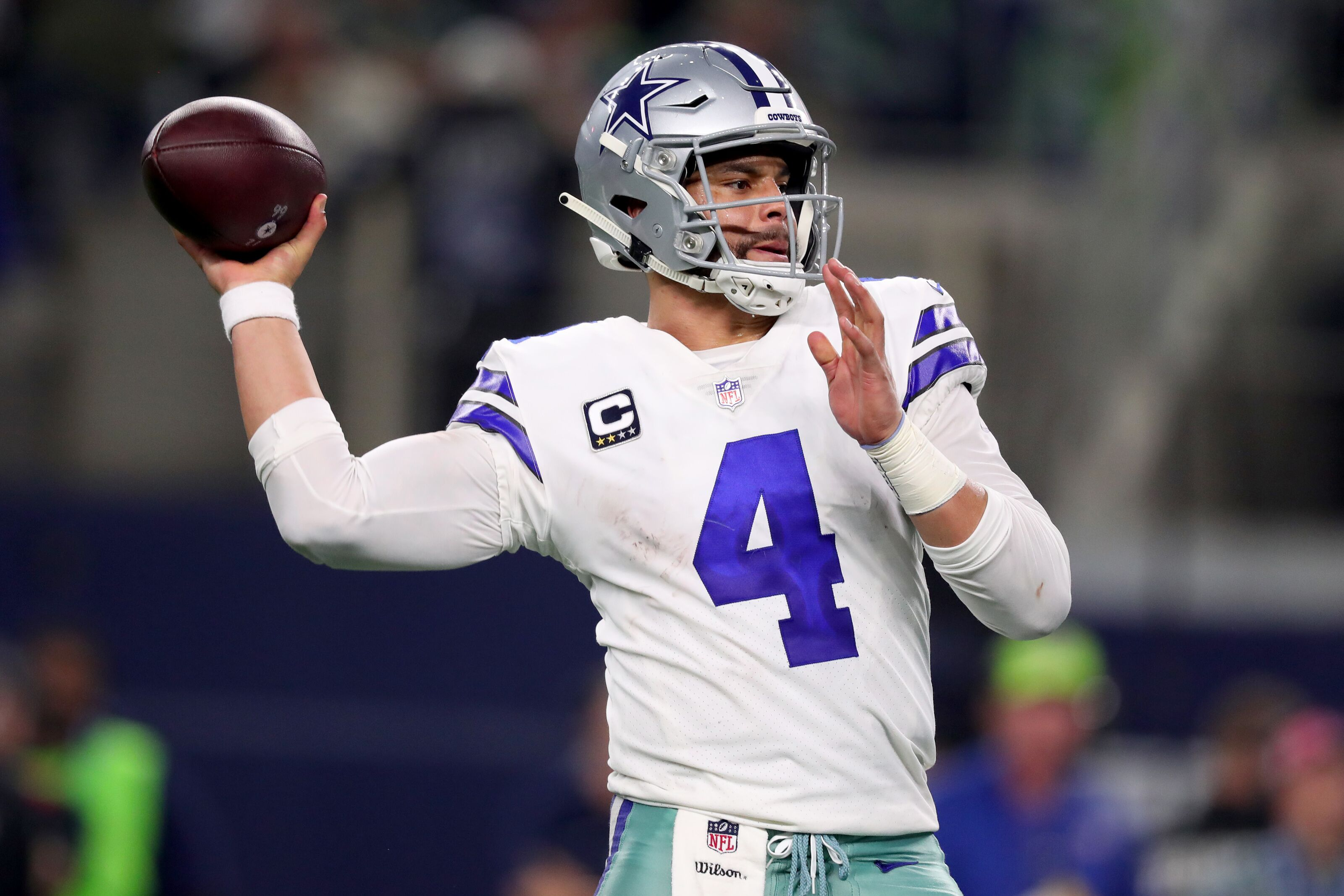 Dak Prescott is looking for big money from Cowboys