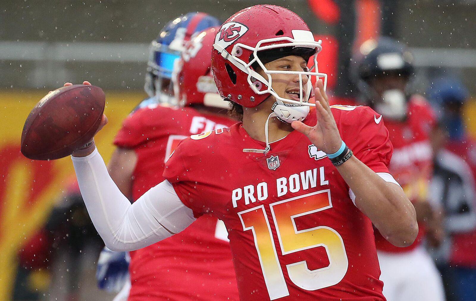 low priced aa97e 4d833 2019 NFL Pro Bowl: Highlights and recap - Mahomes, Adams win MVP