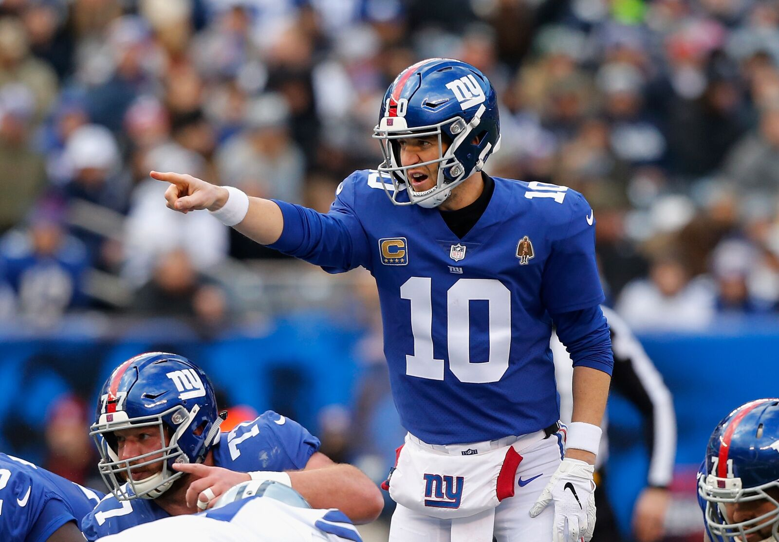 Giants positive Eli Manning is not the problem