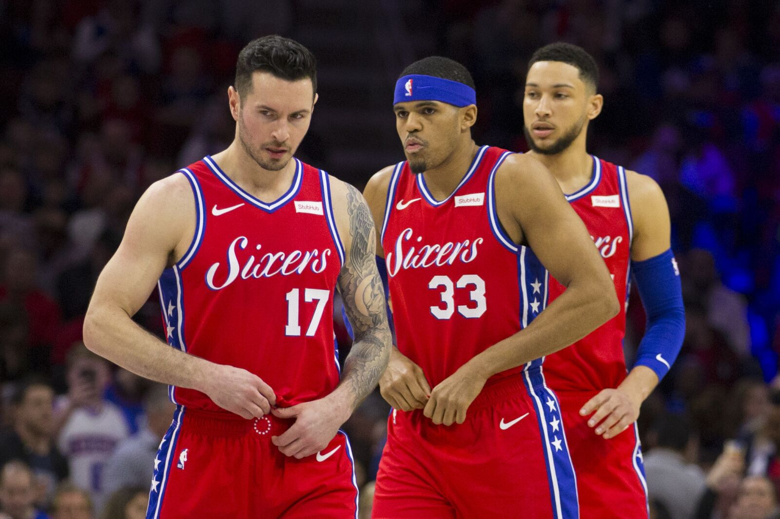be2cb7507cf Whiteboard  J.J. Redick must be sick of hearing about the 76ers Big Four