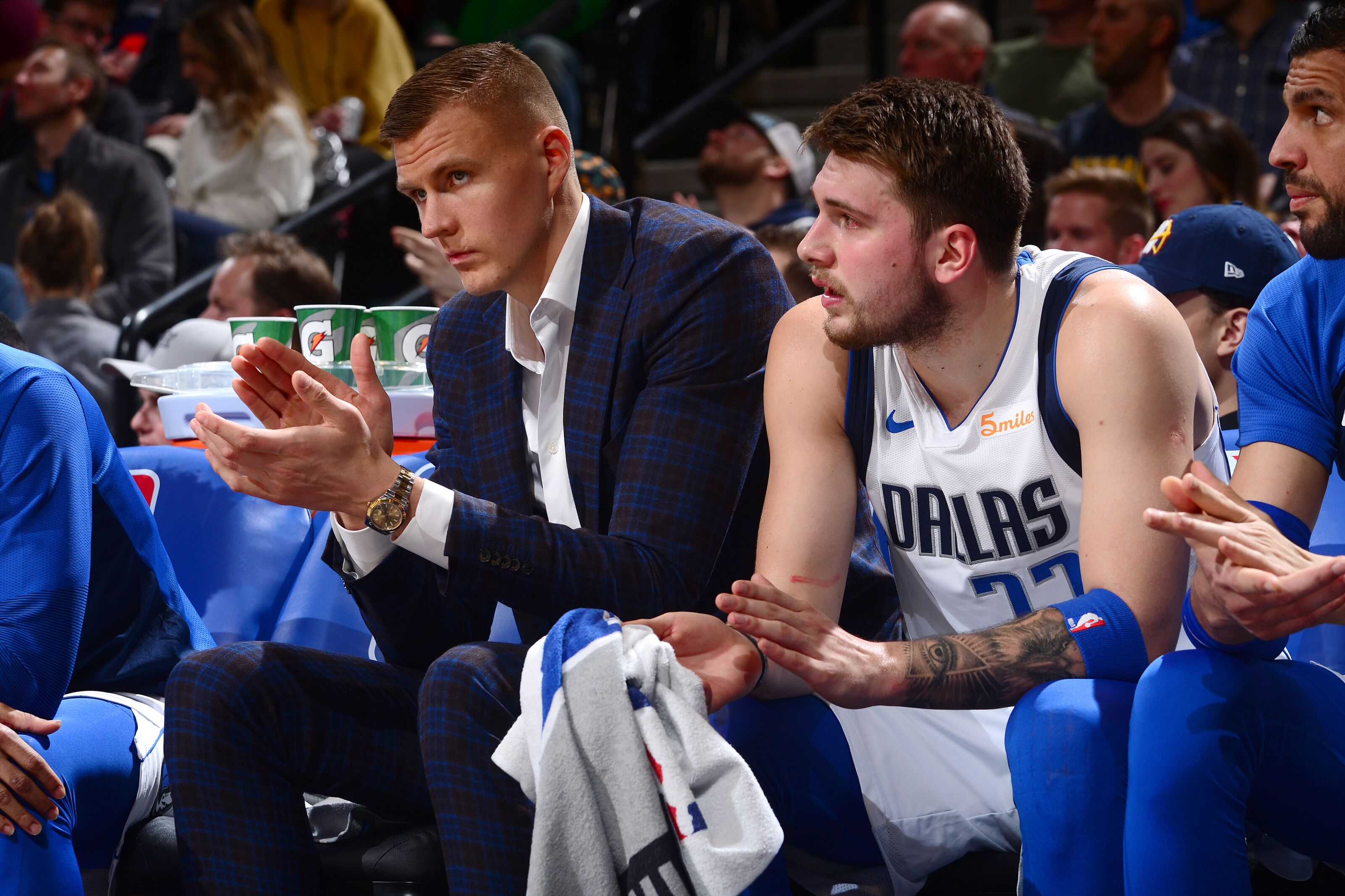 If Kristaps Porzingis is healthy, what are reasonable expectations for the Mavericks?