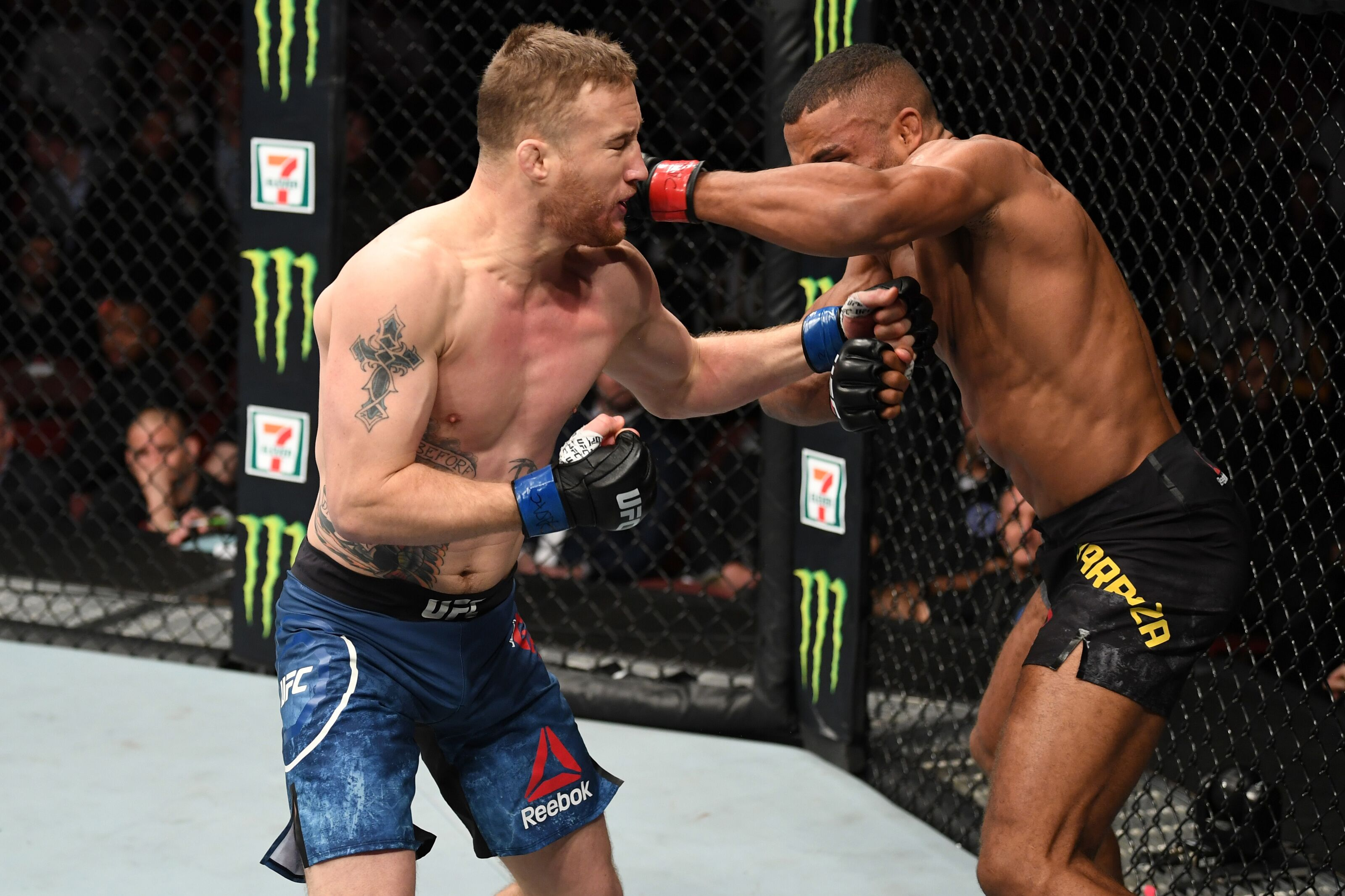 Image result for gaethje vs barboza philadelphia