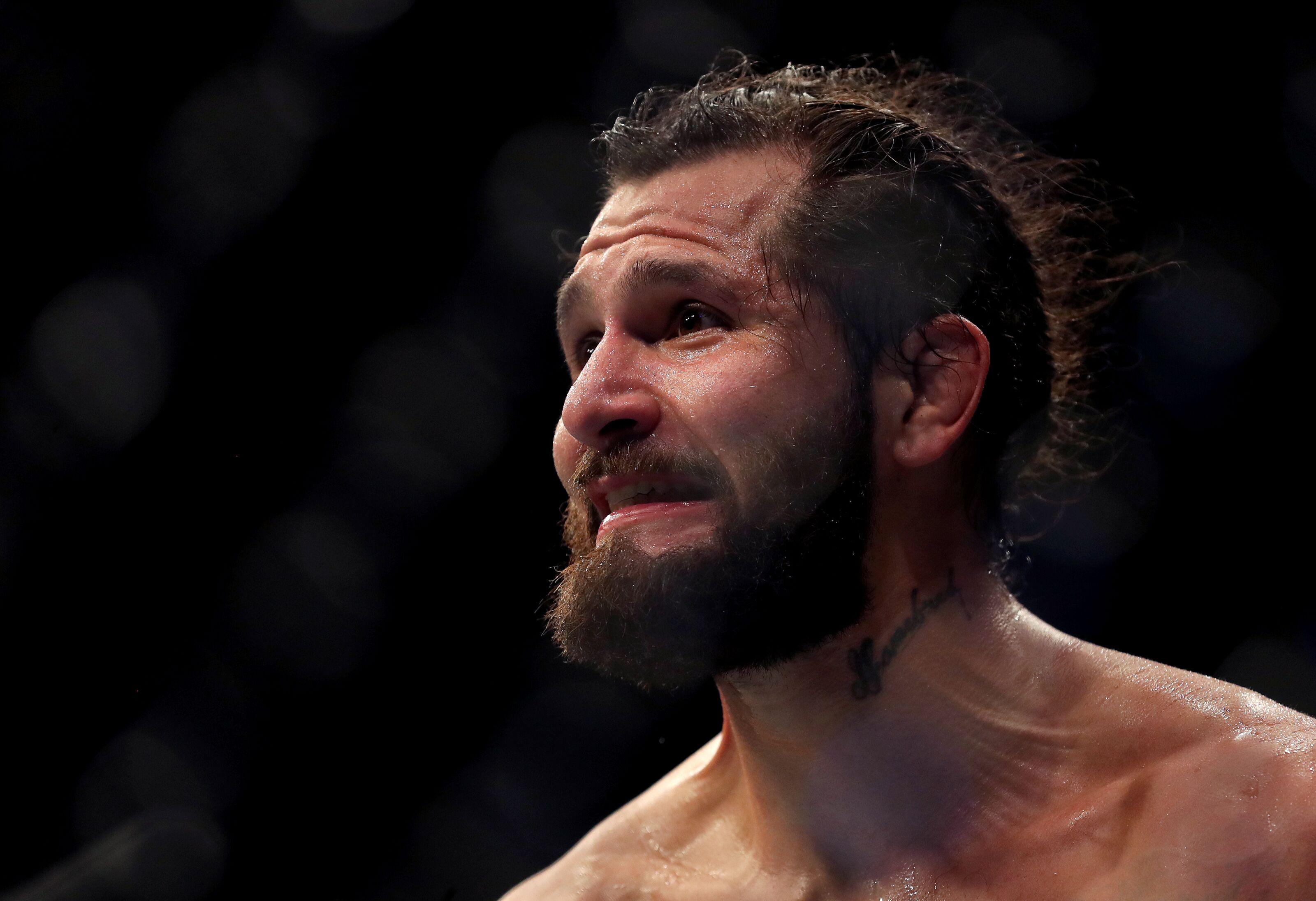 Jorge Masvidal, Leon Edwards exchange blows backstage at UFC London (VIDEO)