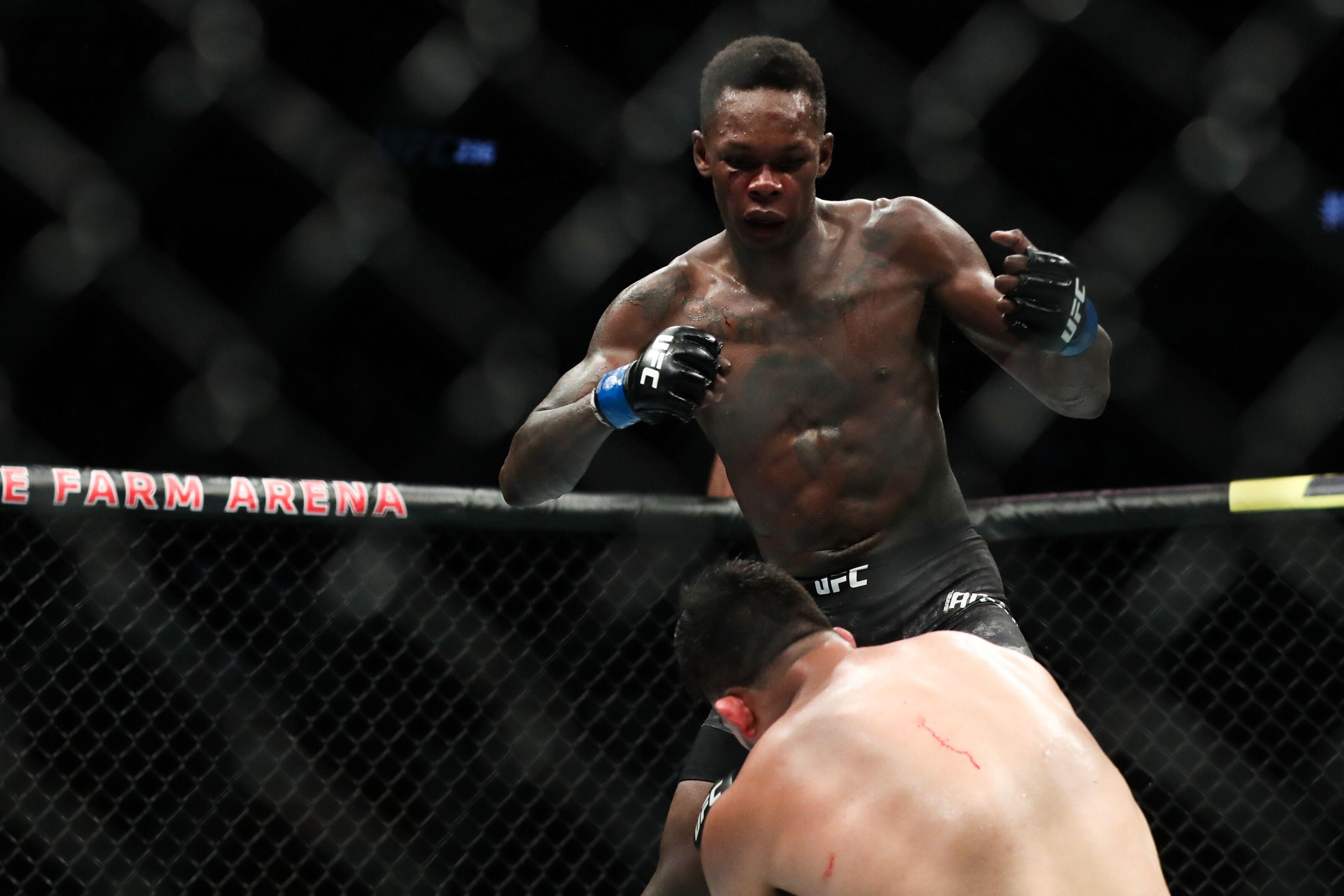 c5ae4fea212 UFC 236: Twitter reacts to Kelvin Gastelum vs. Israel Adesanya