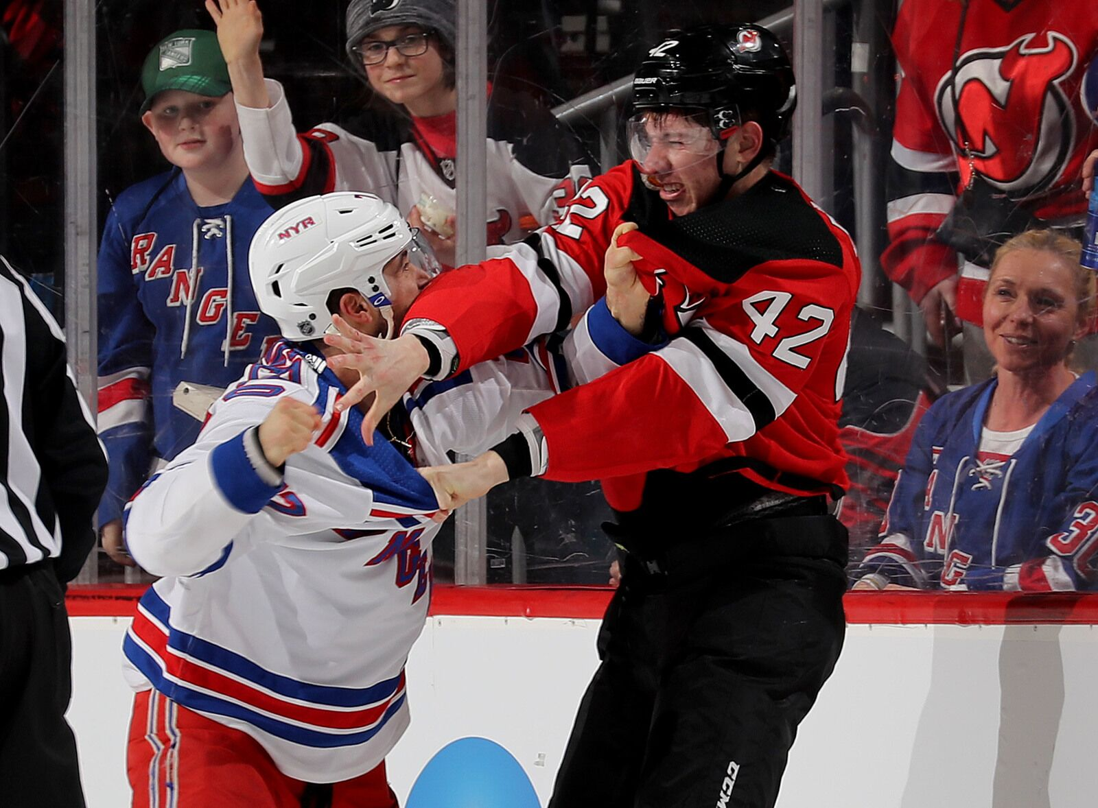 Devils just made the Rangers look like a bunch of jabronis