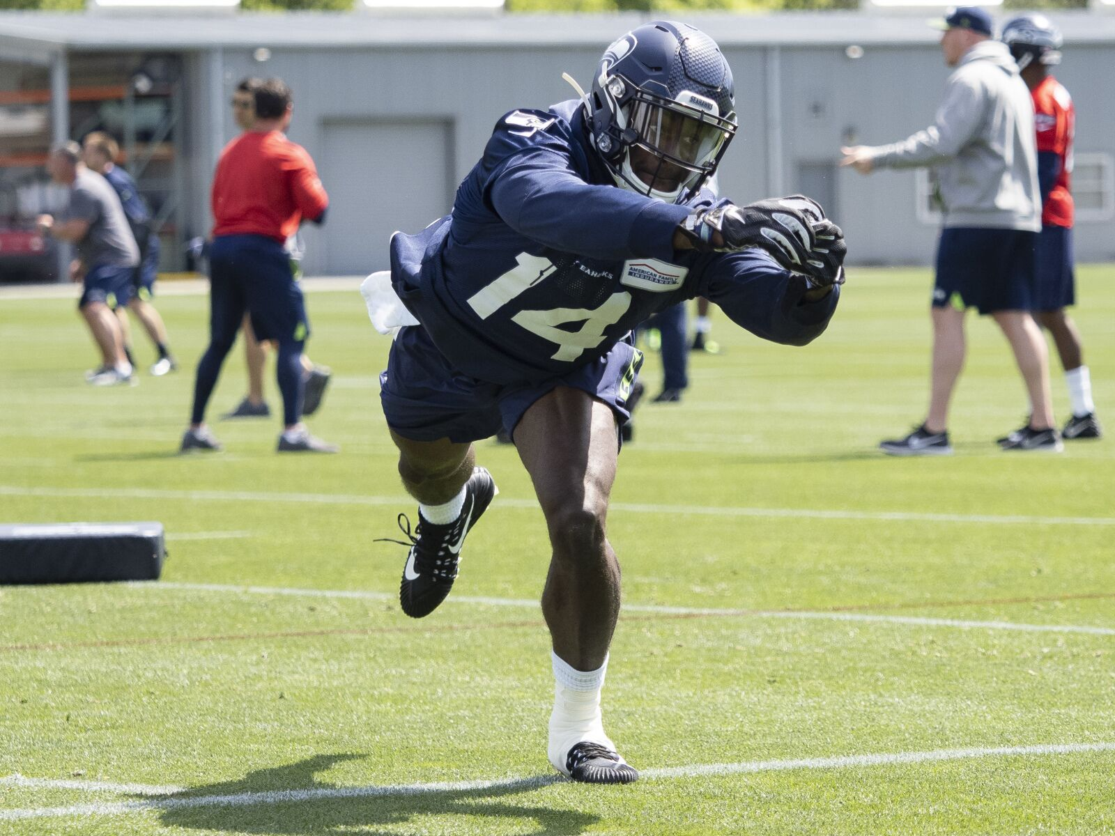 Seahawks excited about D.K. Metcalf's game