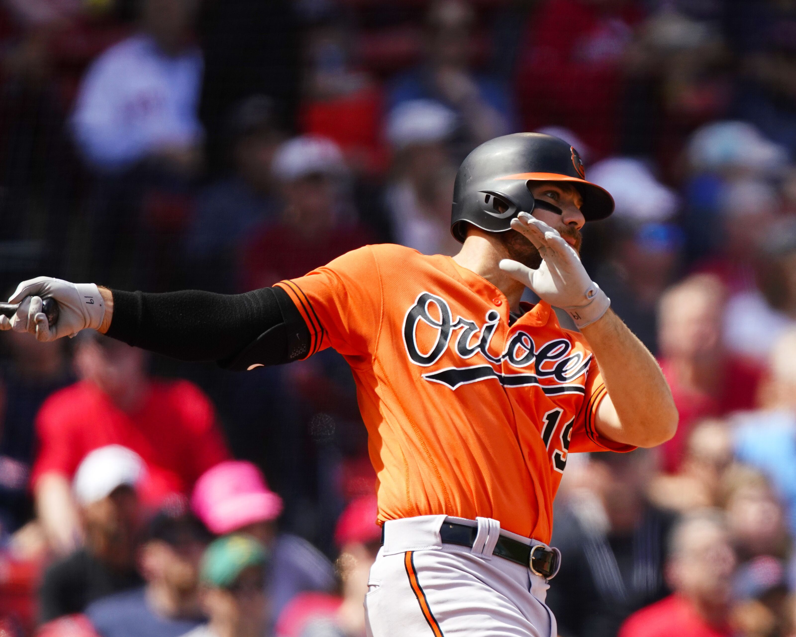 Chris Davis' long nightmare finally comes to an end in Boston