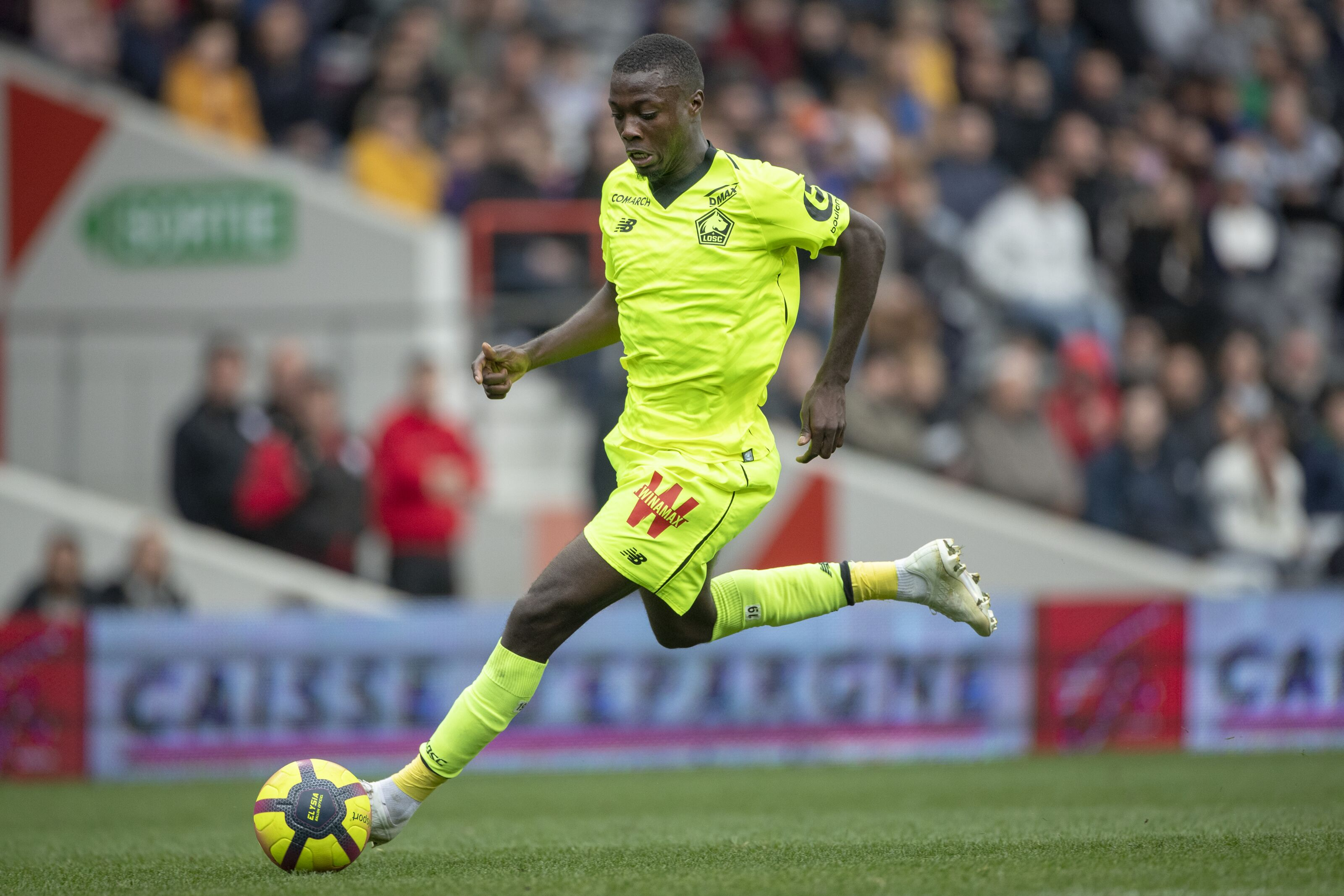 5 possible landing spots for Nicolas Pepe this summer