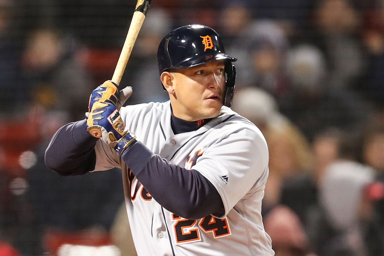Miguel Cabrera at the plate for the Detroit Tigers