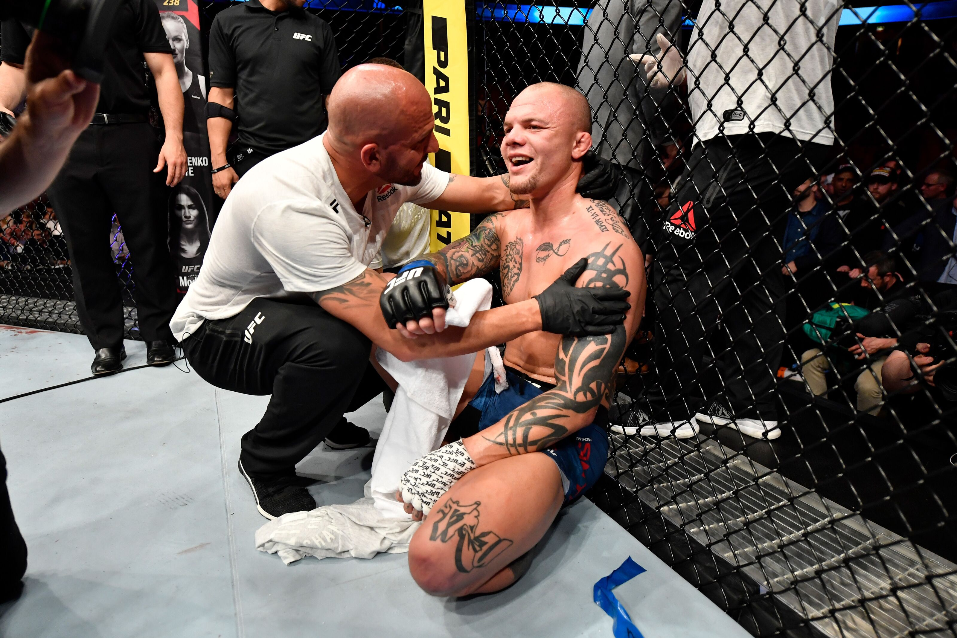 Winners (and losers) of UFC Stockholm react
