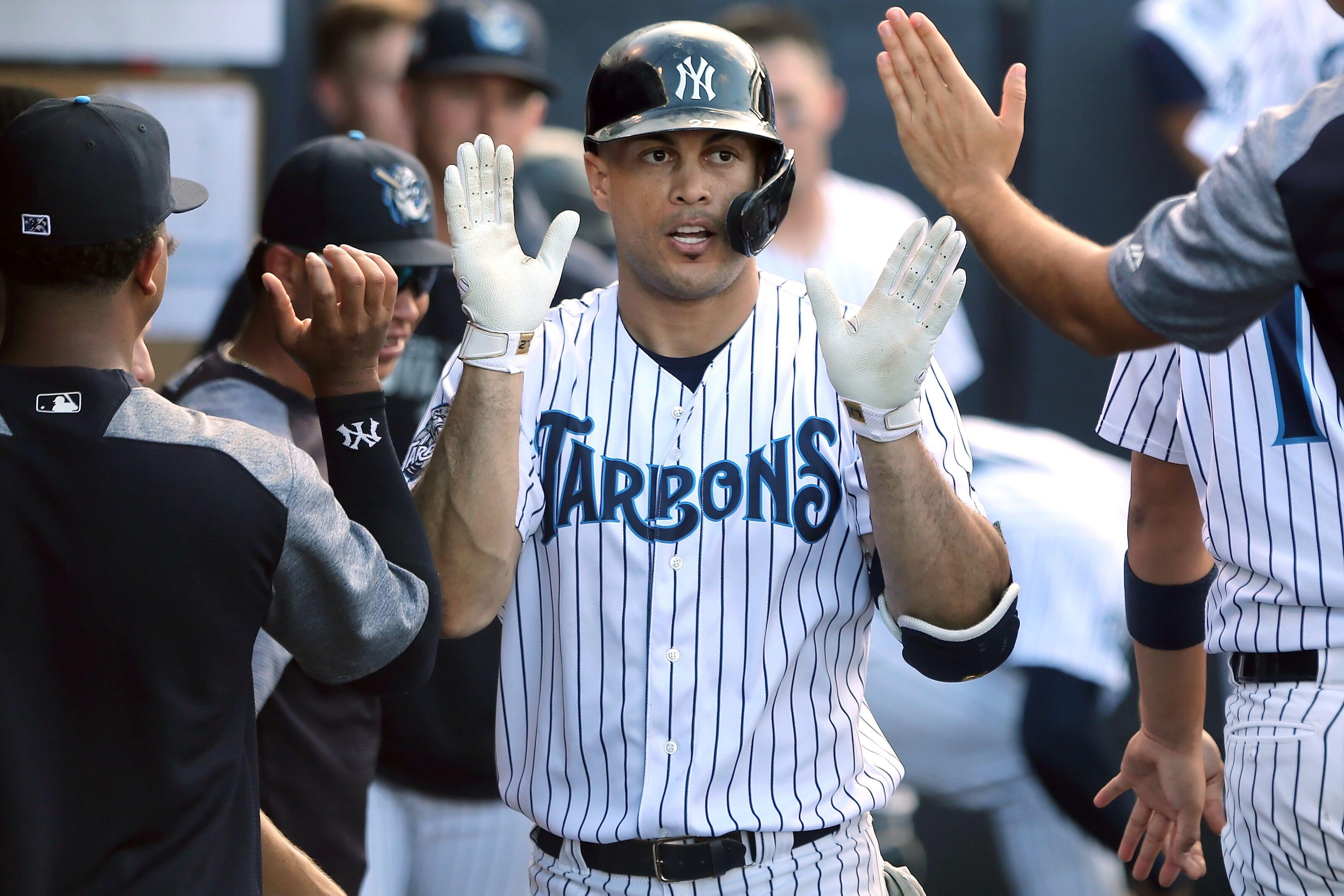 Yankees eye Tuesday return for Giancarlo Stanton