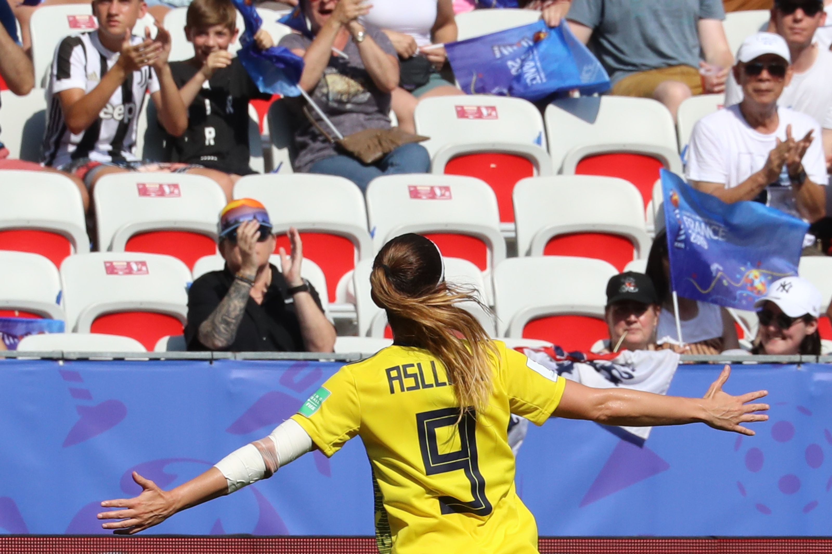 Real Madrid make Kosovare Asllani their first signing to women's team