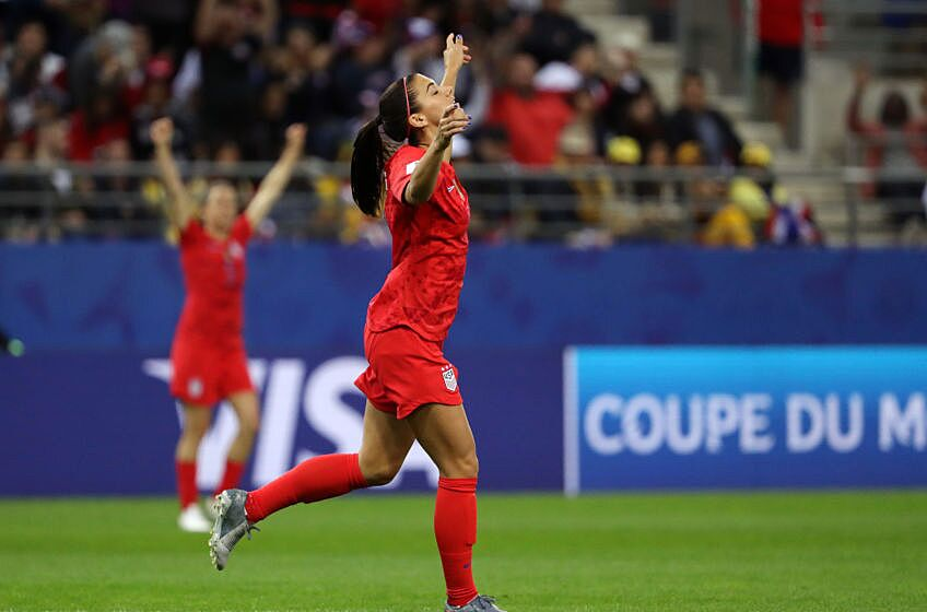 92dc56d42c3 USWNT match ratings against Thailand: This was Alex Morgan's night ...