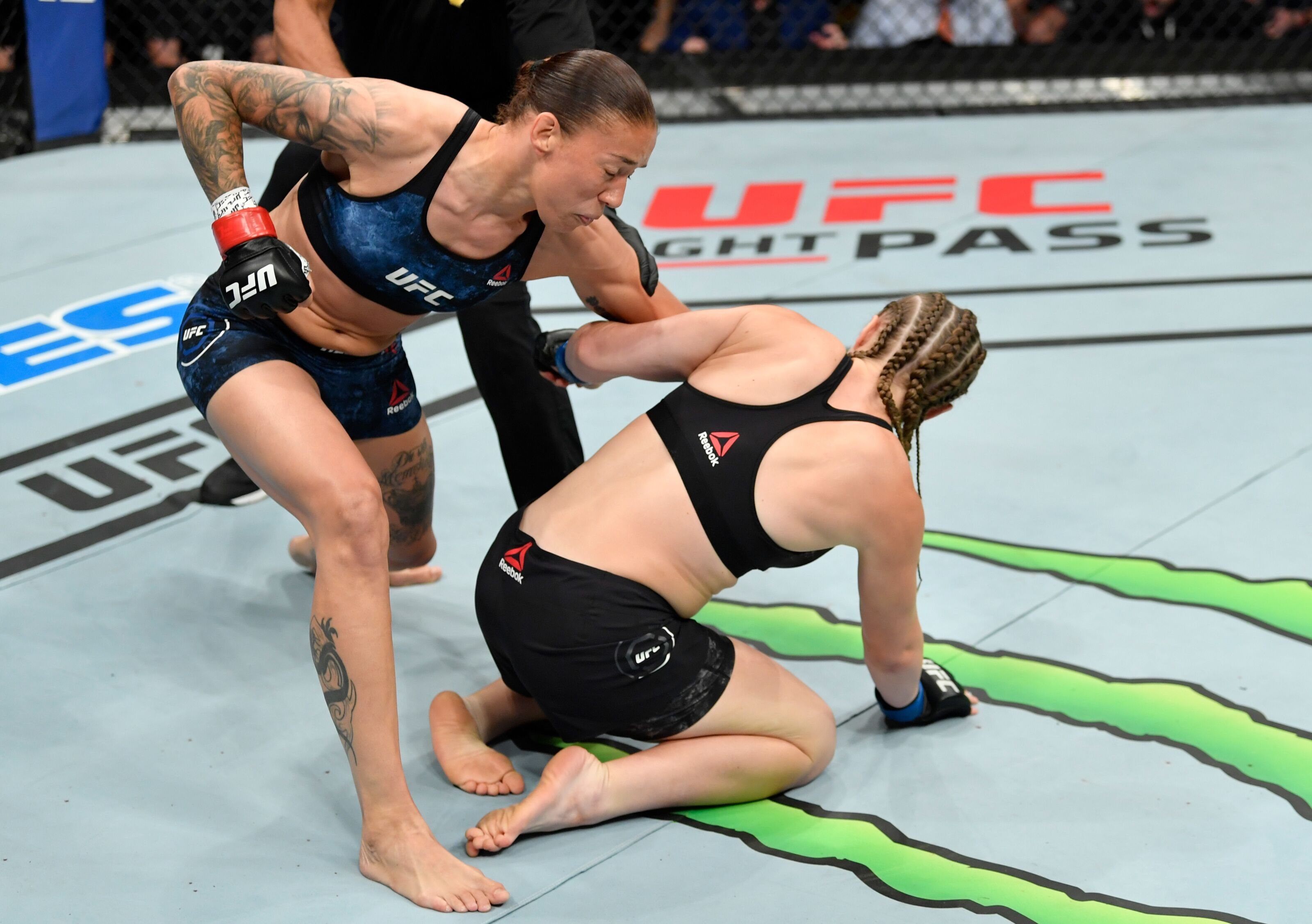 UFC Sacramento: Twitter reacts to Germaine de Randamie's fast KO over Aspen Ladd