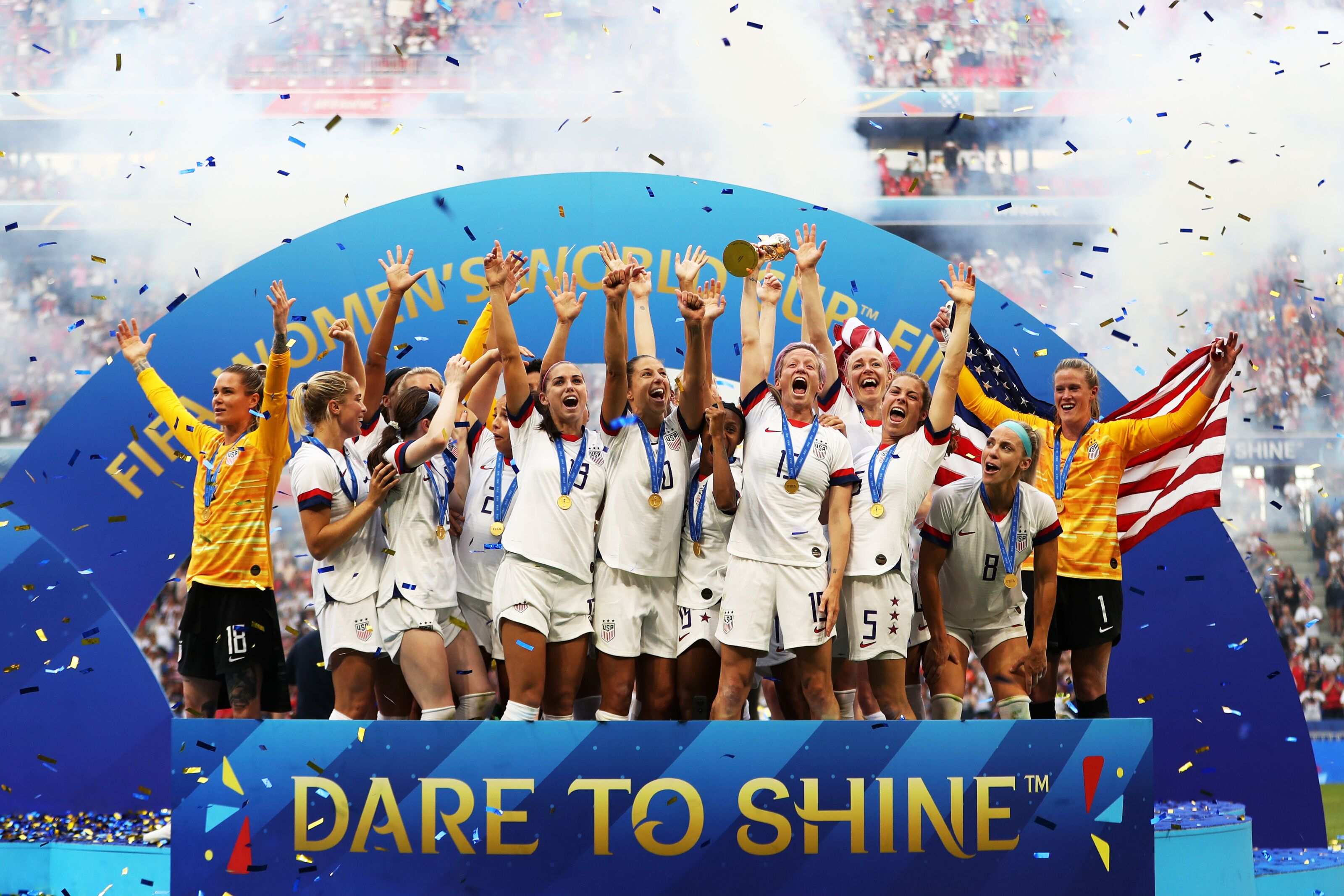 USWNT sets new standard with 2019 Women's World Cup victory
