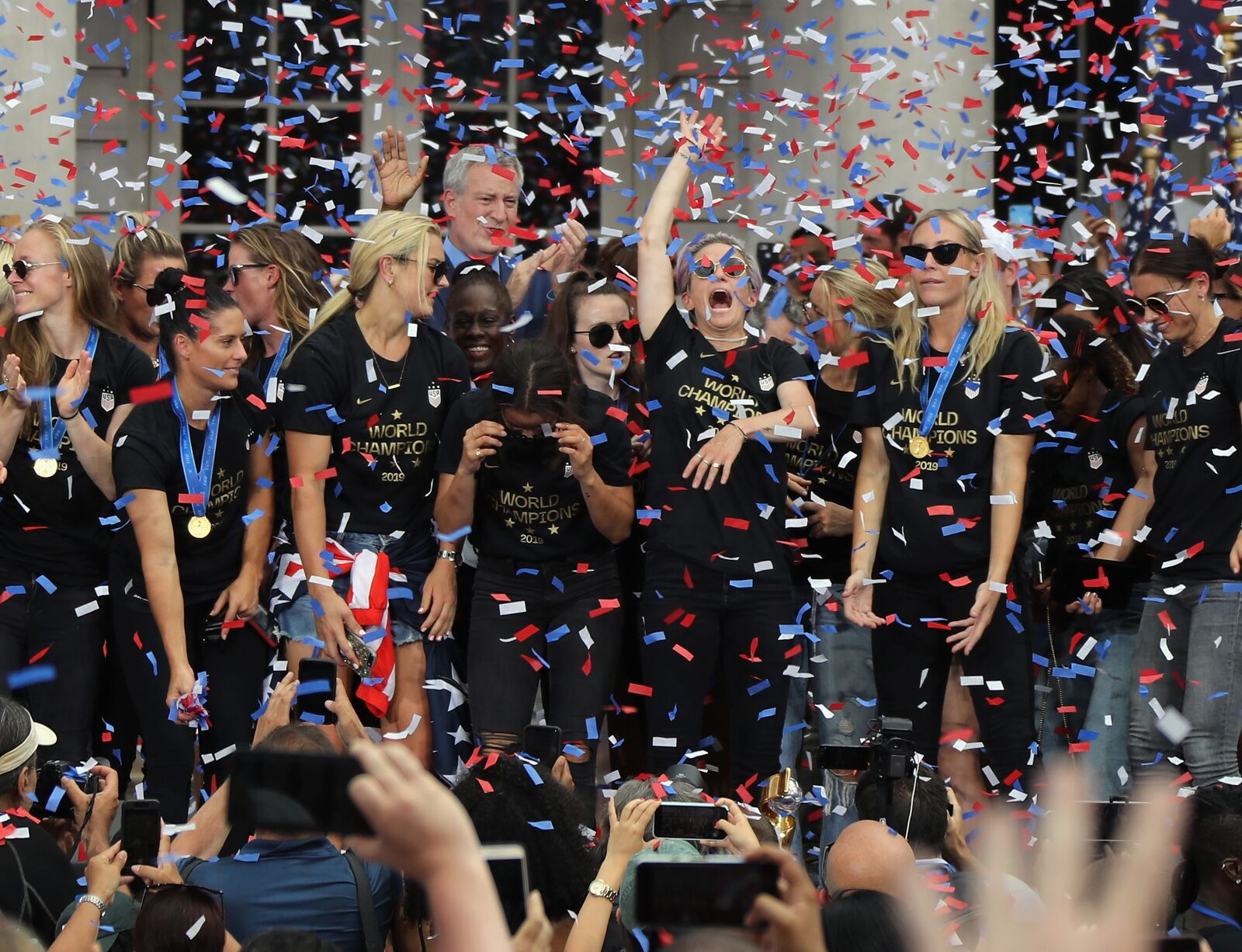 What the USWNT's victory parade says about American fandom