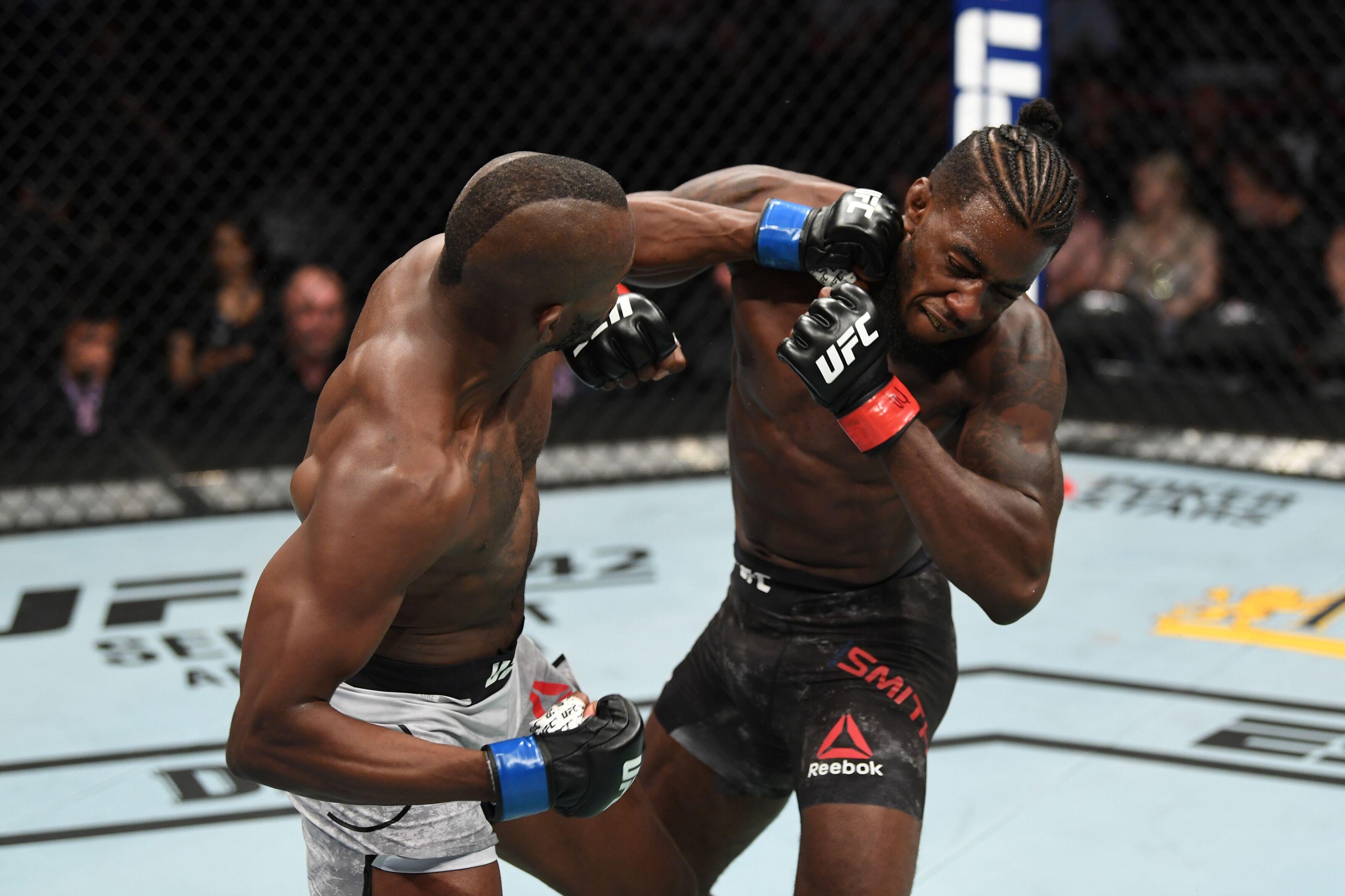 UFC 241: Khama Worthy pulls off major upset, drops Devonte Smith in one round