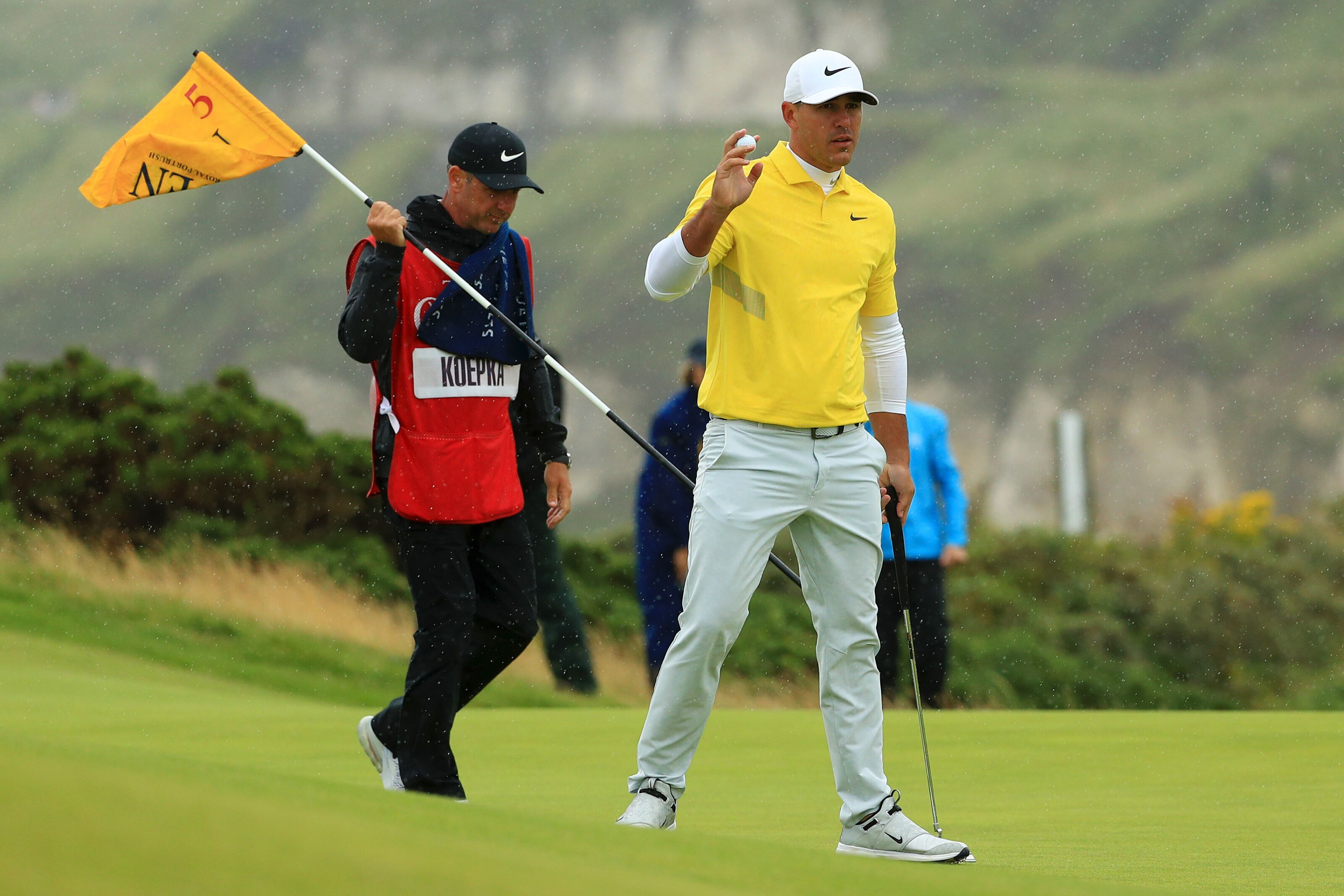 Brooks Koepka pulls no punches calling out slow play by J.B. Holmes