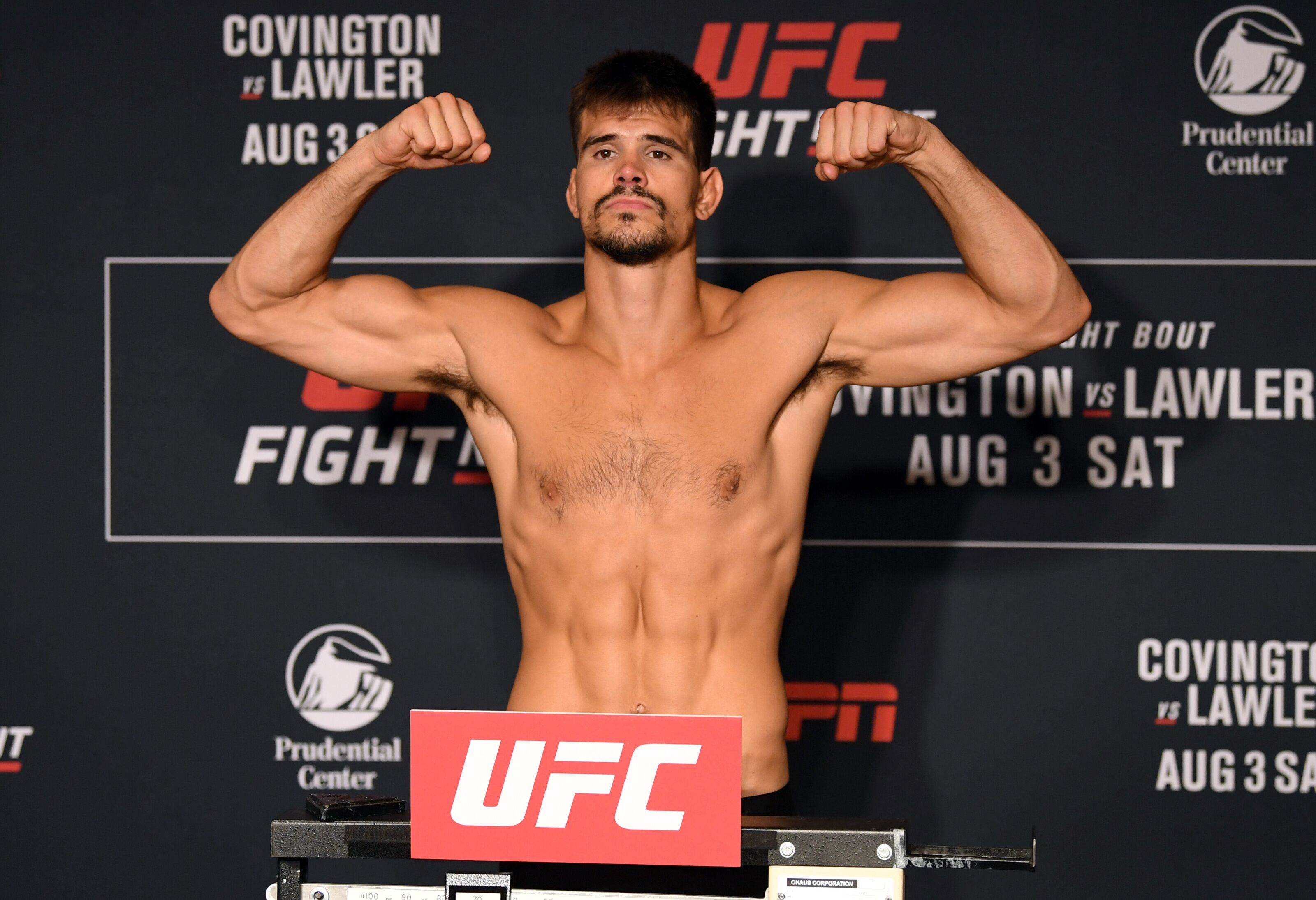 Mickey Gall is all about proving himself at UFC Newark