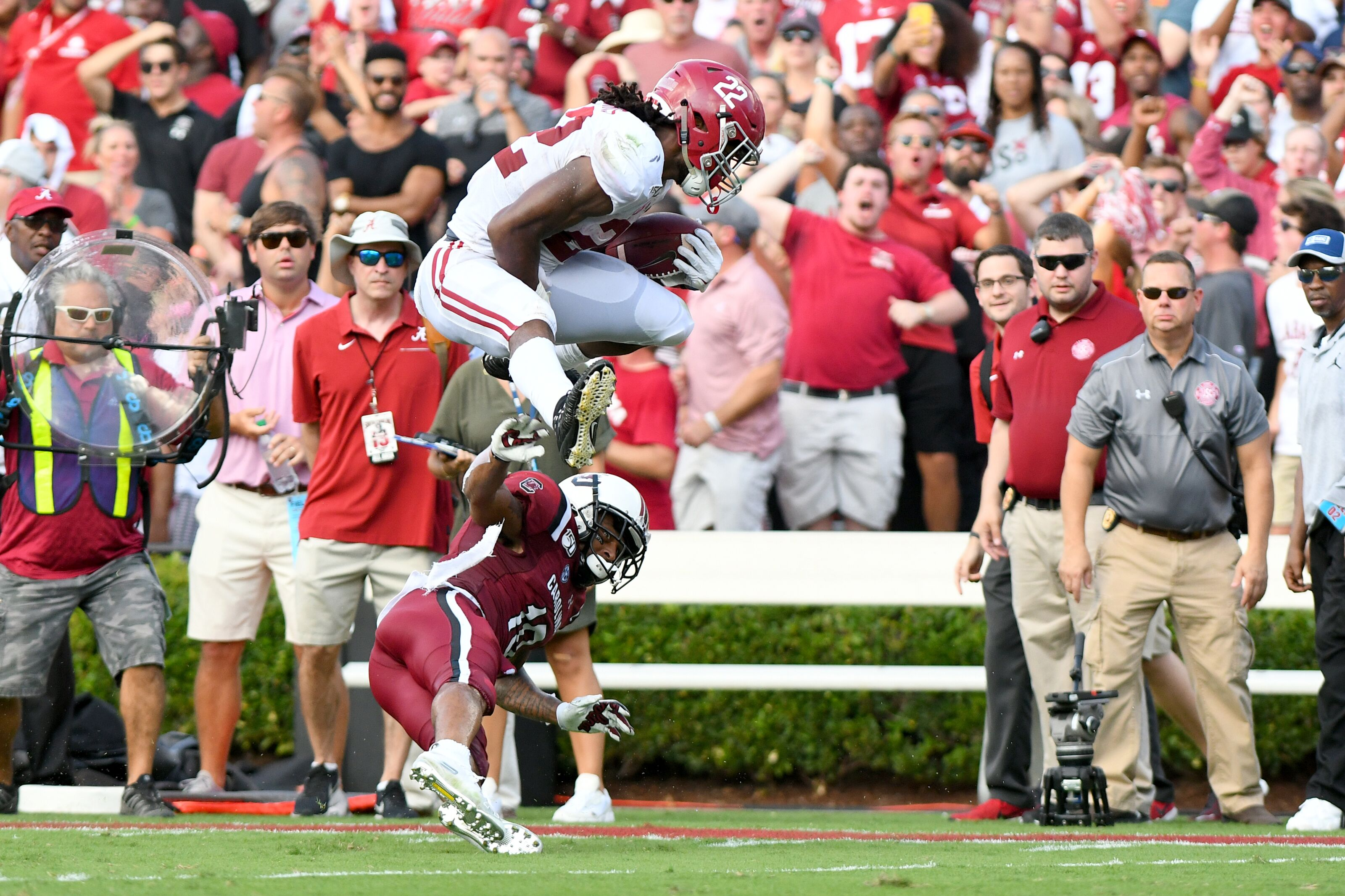 College football rankings: Top 10 team performances of Week 3 – Alabama nearly perfect